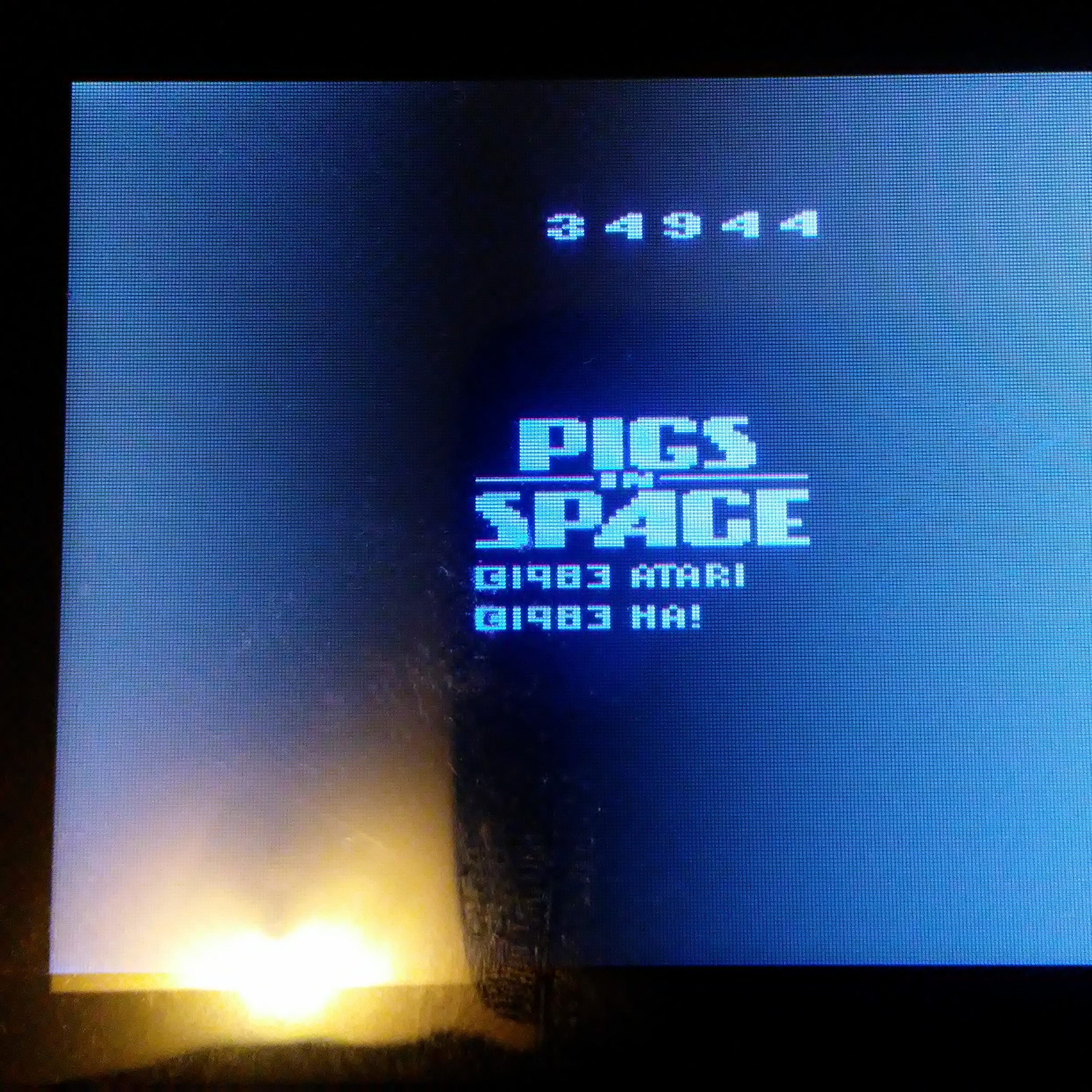 Pigs In Space 34,944 points