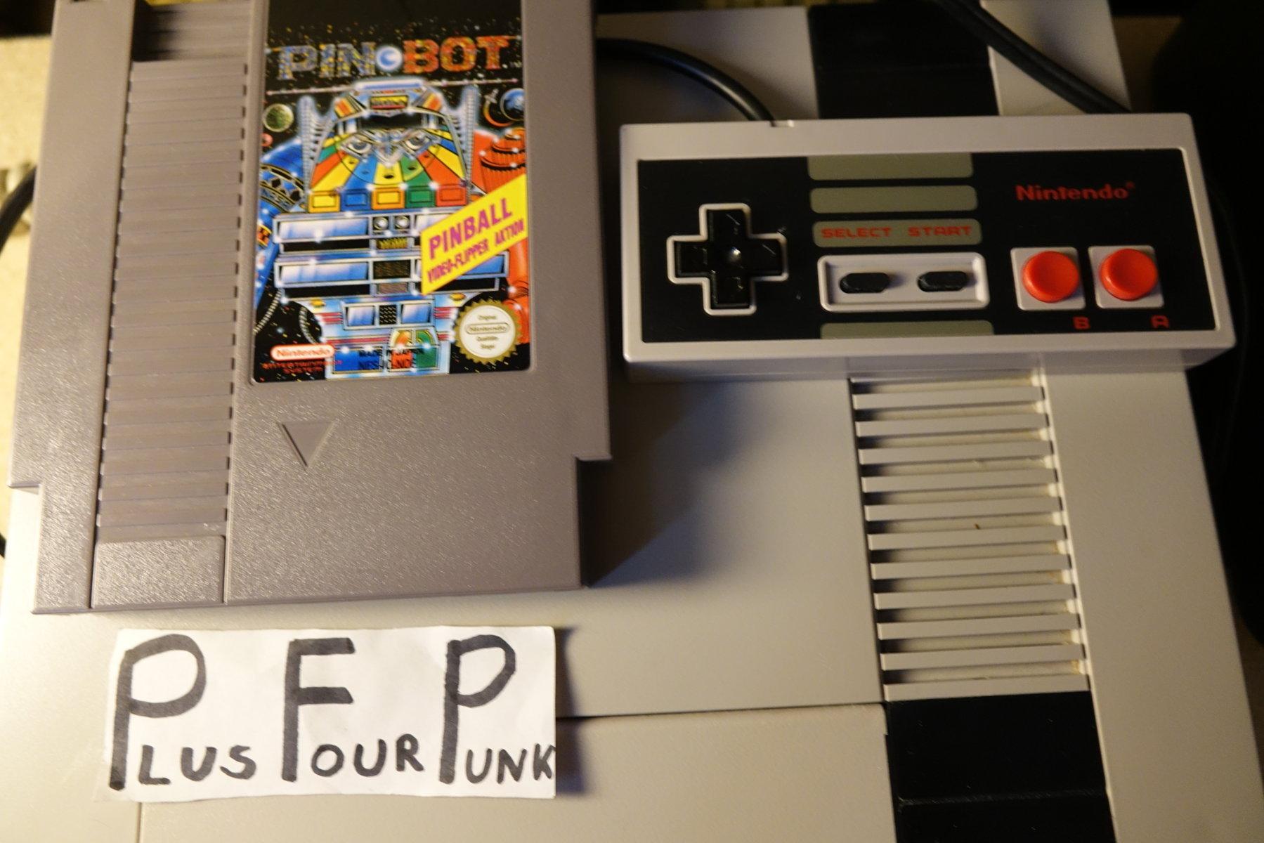 plus4punk: Pin*Bot (NES/Famicom) 3,940,610 points on 2020-06-10 15:15:45