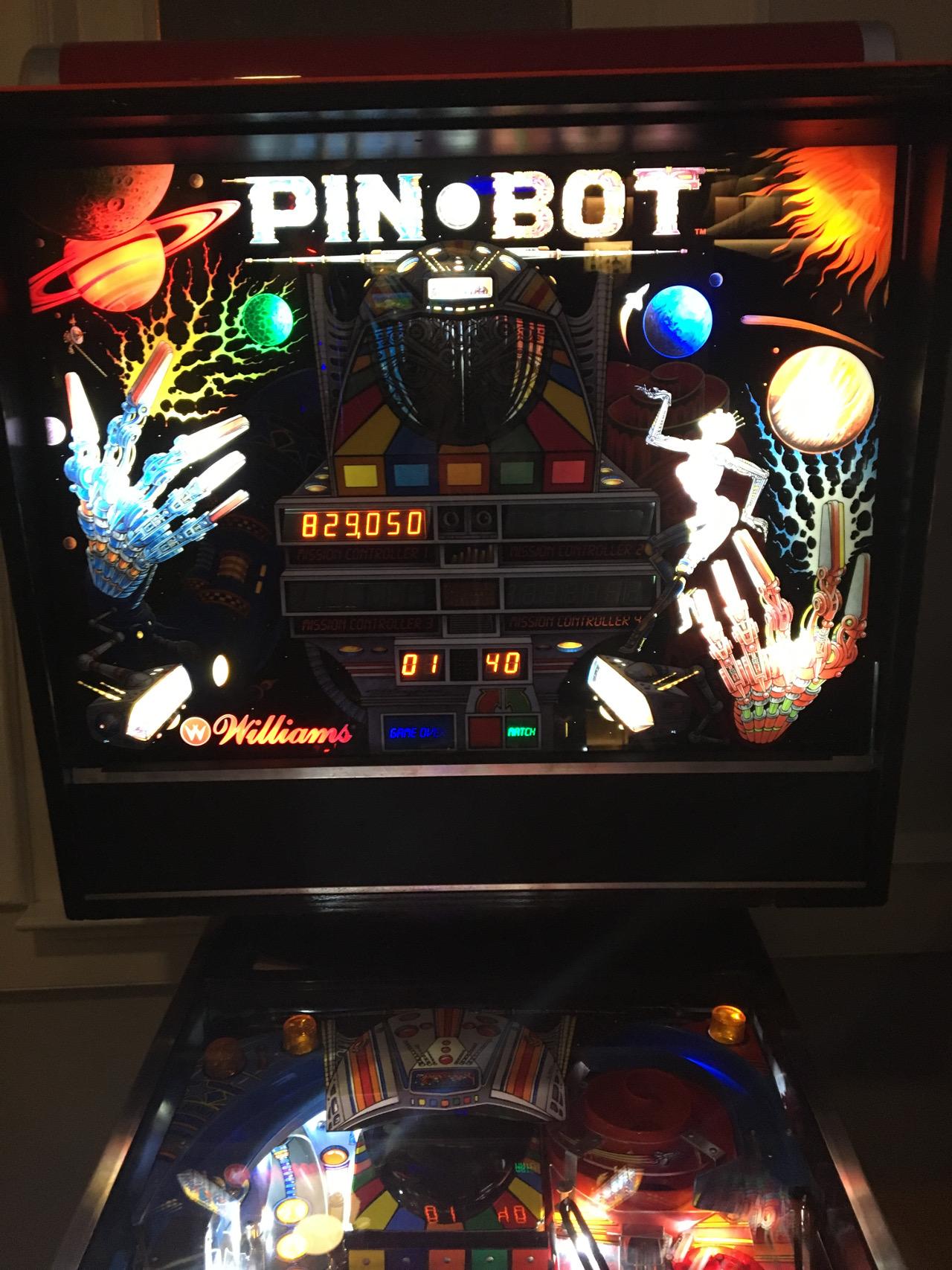 ILLSeaBass: Pin*Bot (Pinball: 3 Balls) 829,050 points on 2016-11-23 01:08:07