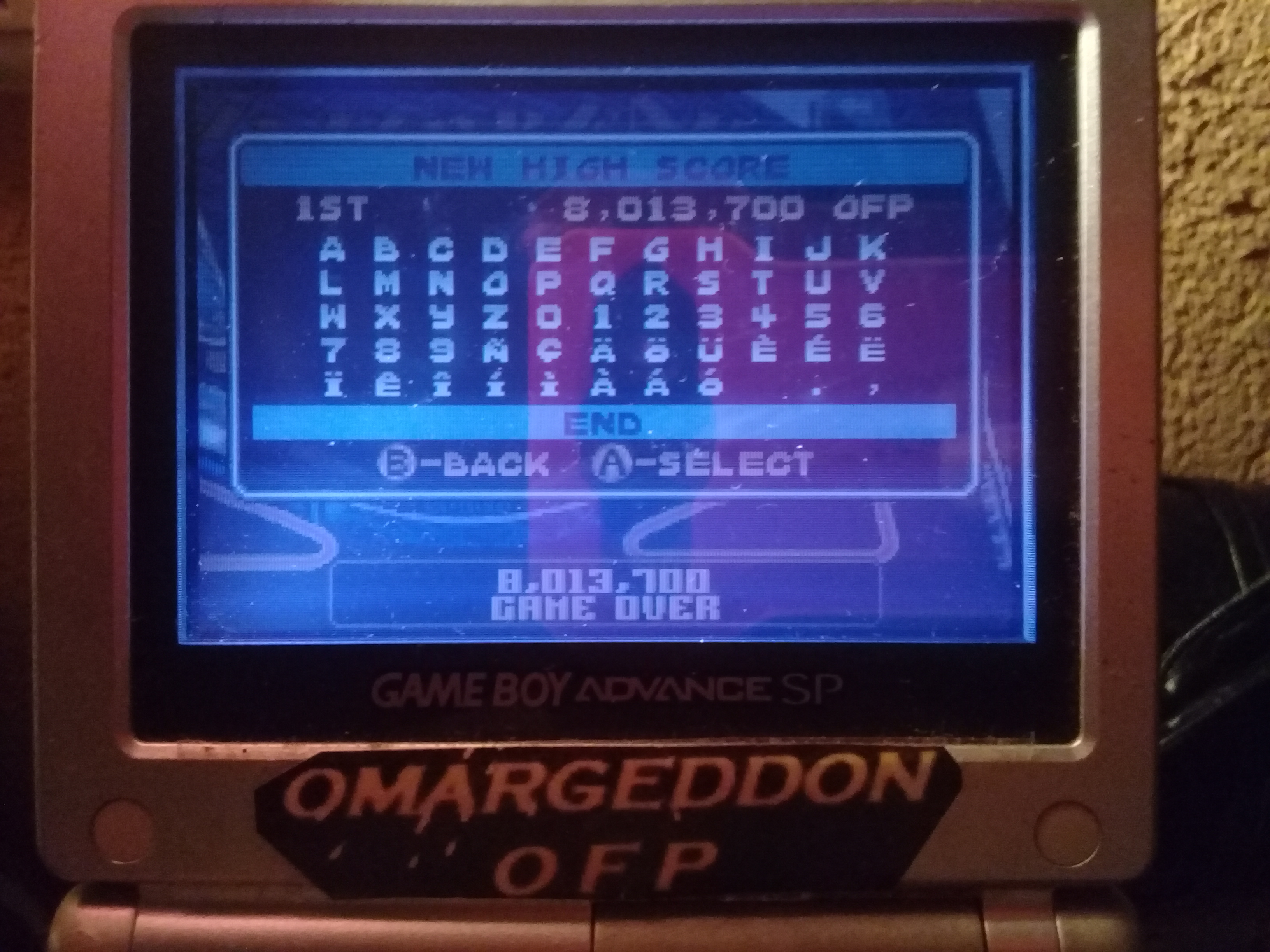omargeddon: Pinball Advance: Jailbreak [3 Balls] [Easy] (GBA) 8,013,700 points on 2019-10-11 21:59:24
