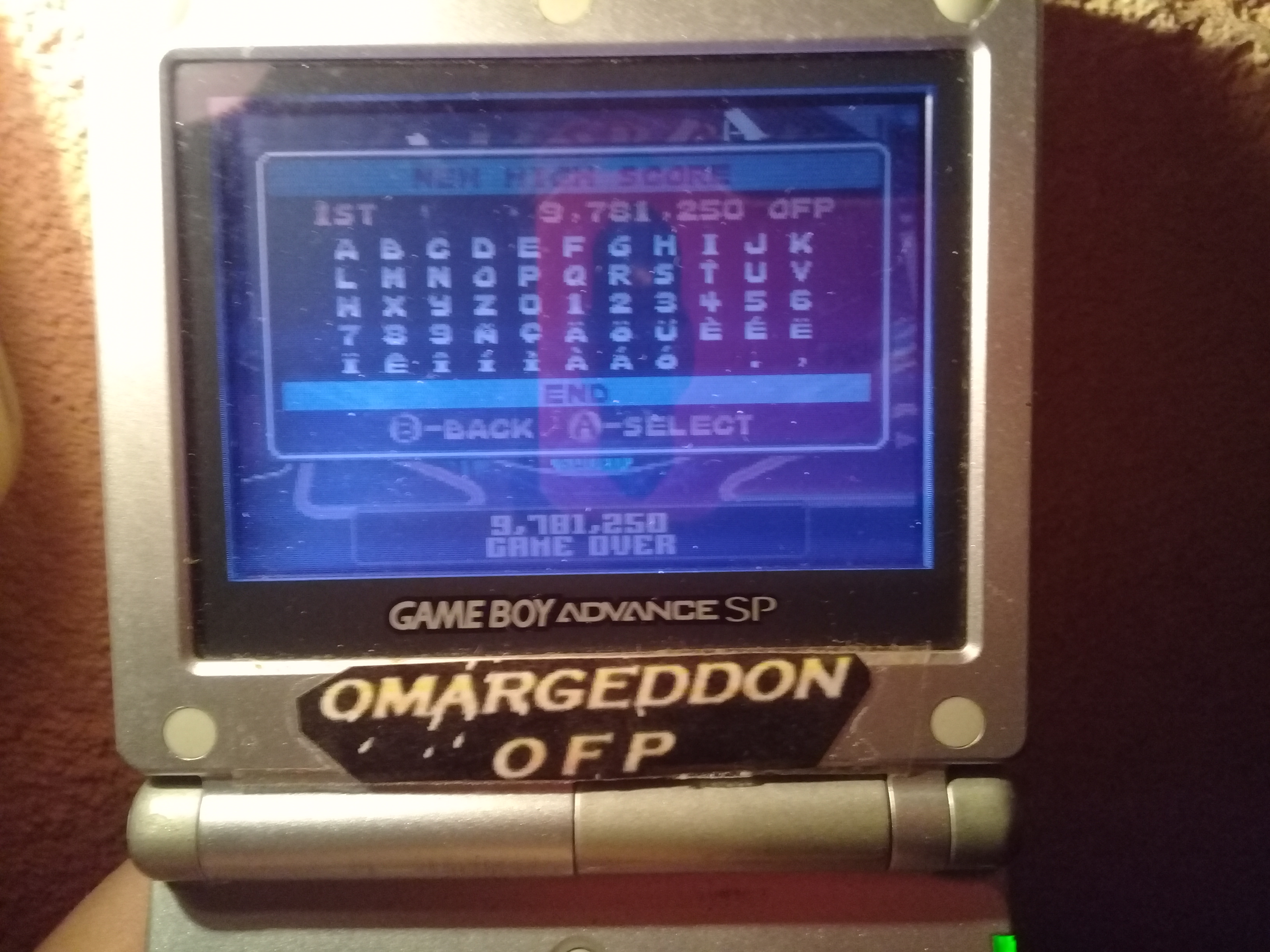omargeddon: Pinball Advance: Jailbreak [3 Balls] [Hard] (GBA) 9,781,250 points on 2019-10-11 22:17:12