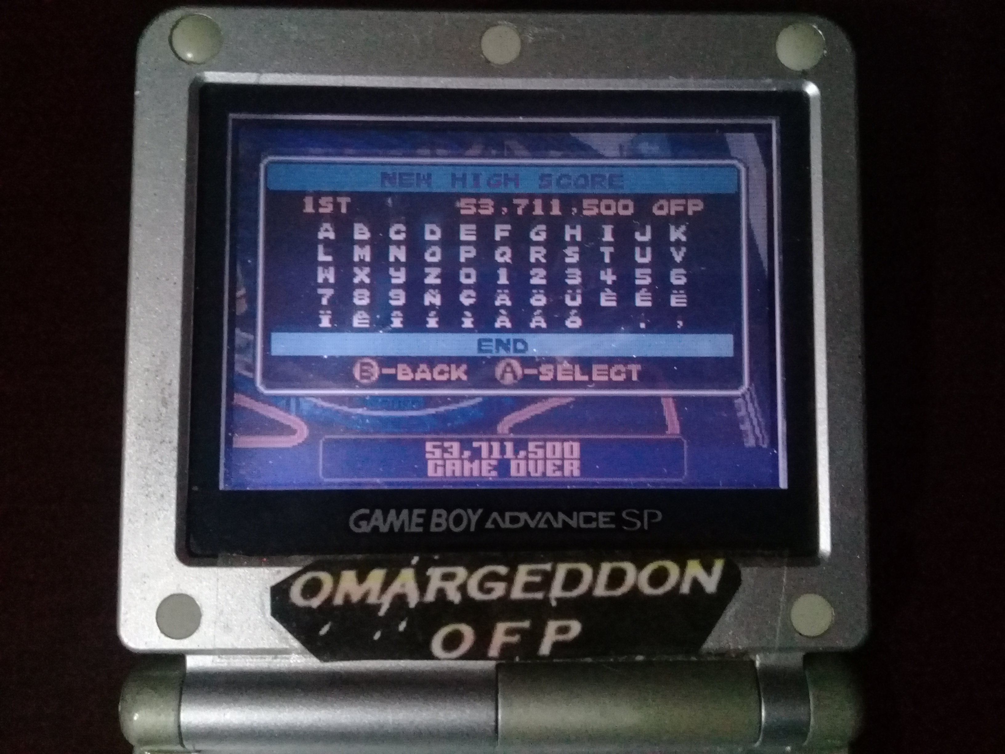 omargeddon: Pinball Advance: Jailbreak [5 Balls] [Easy] (GBA) 53,711,500 points on 2019-10-13 11:15:08