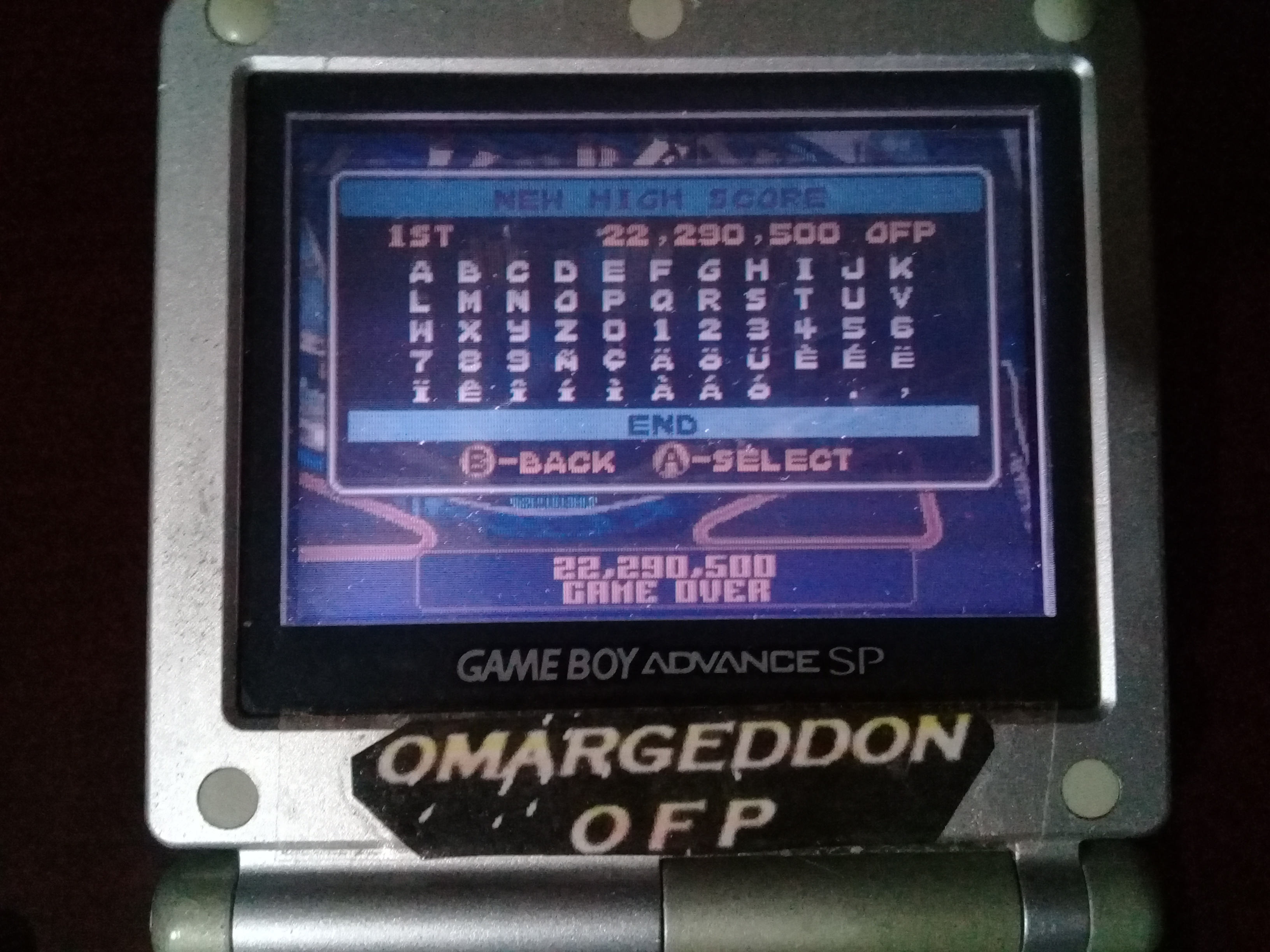 omargeddon: Pinball Advance: Jailbreak [5 Balls] [Hard] (GBA) 22,290,500 points on 2019-10-13 11:23:22