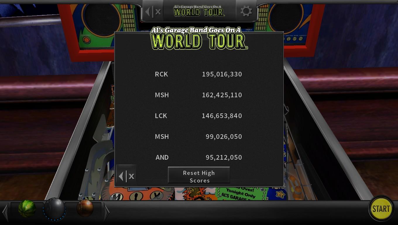 Mark: Pinball Arcade: Al