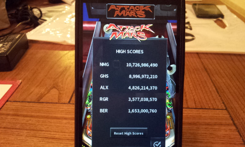 Larquey: Pinball Arcade: Attack From Mars (Android) 1,653,000,760 points on 2017-11-26 11:18:17