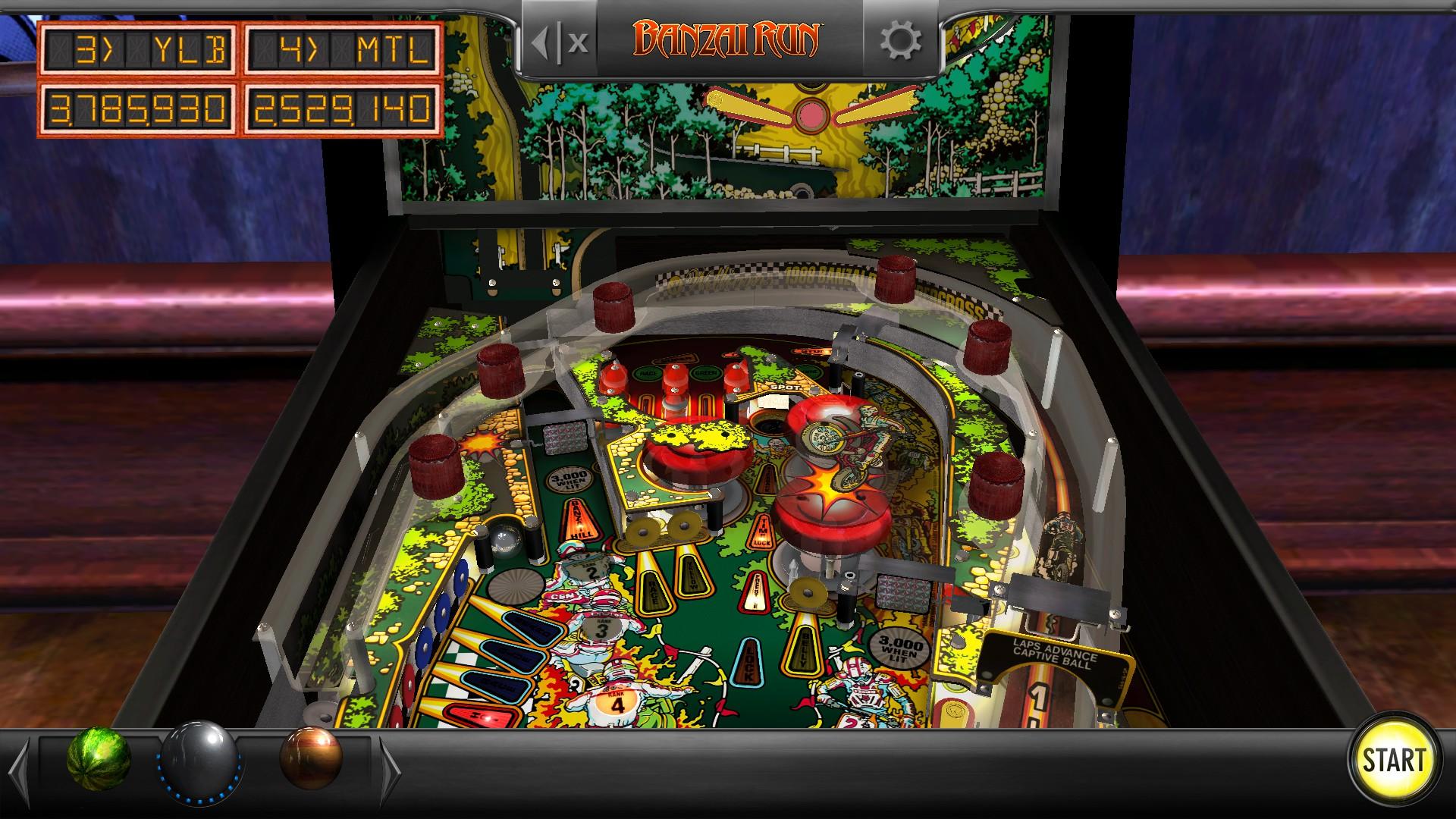 Mantalow: Pinball Arcade: Banzai Run (PC) 2,529,140 points on 2018-03-12 12:14:51