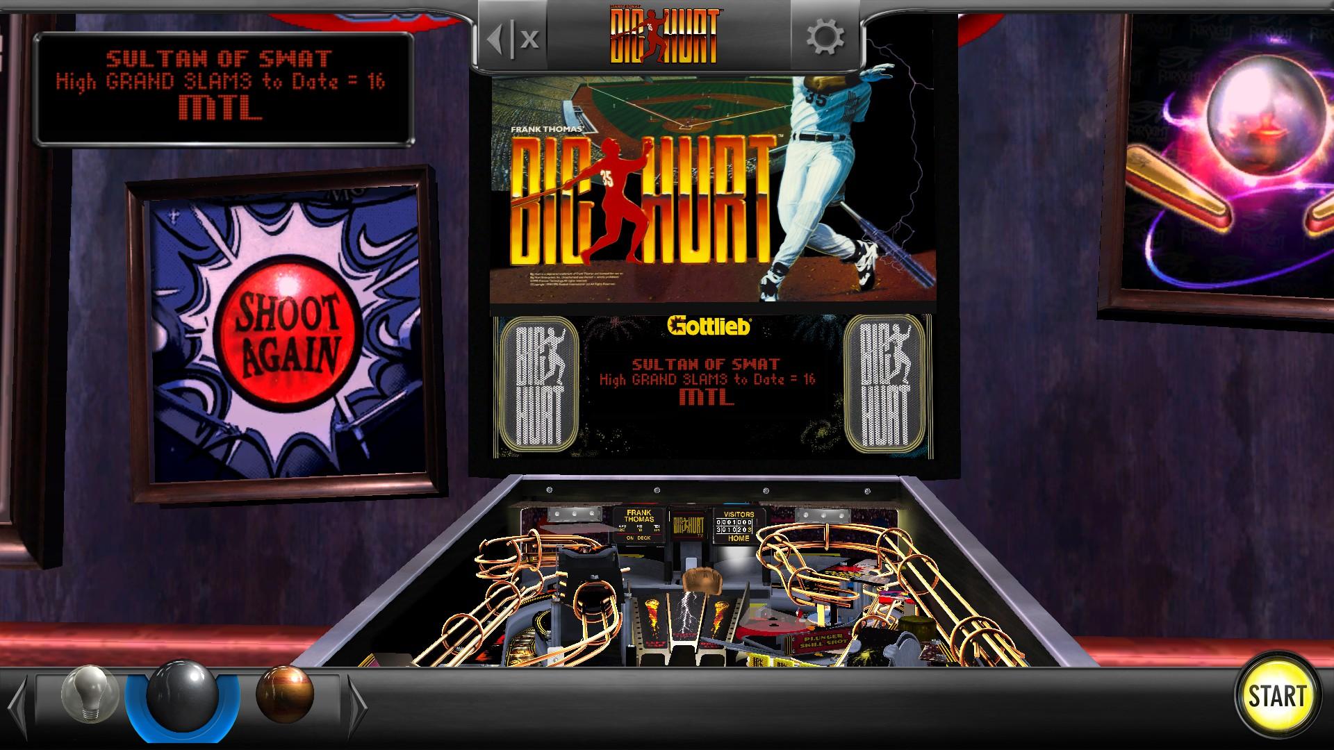 Mantalow: Pinball Arcade: Big Hurt (PC) 1,515,745,850 points on 2016-08-25 02:13:38