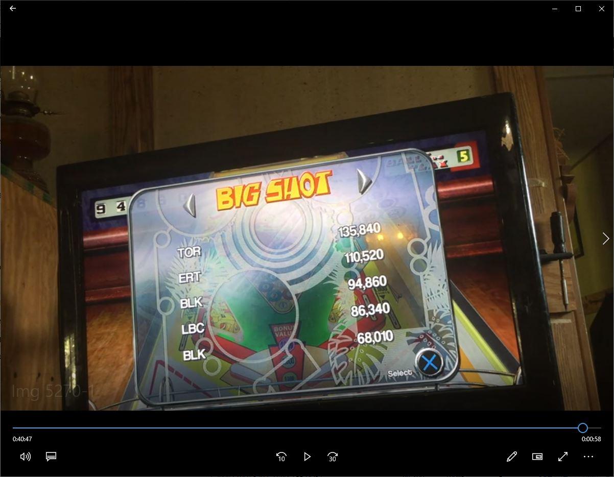 speedy4759123: Pinball Arcade: Big Shot (Playstation 4) 94,860 points on 2019-09-02 12:49:06