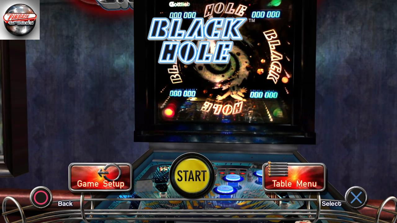 RetroRob: Pinball Arcade: Black Hole (Playstation 4) 870,300 points on 2019-10-16 15:12:22