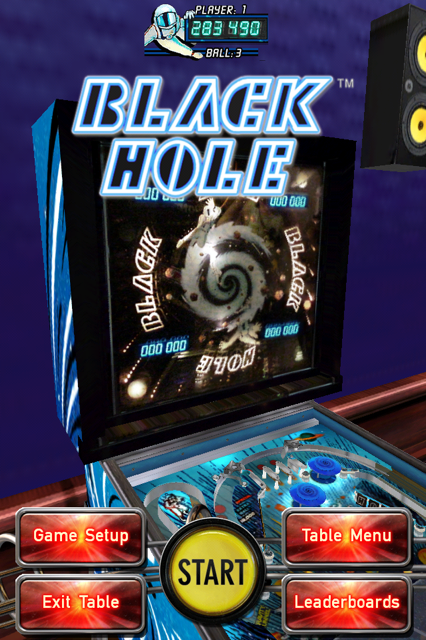 Pinball Arcade: Black Hole 1,283,490 points
