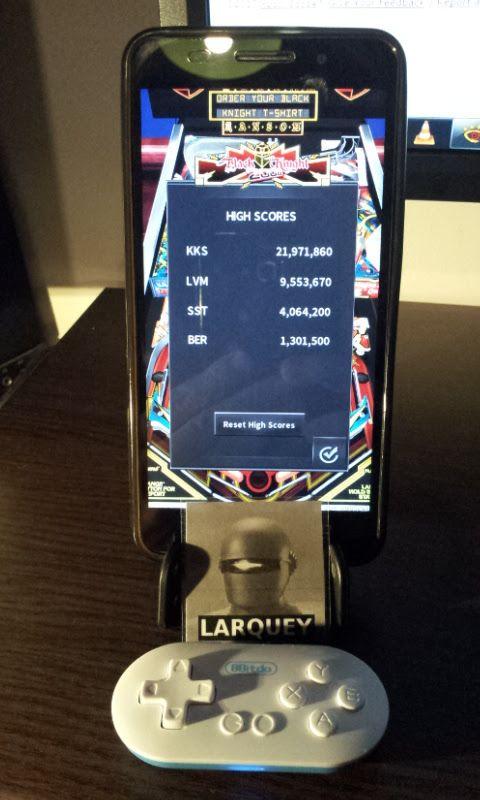 Larquey: Pinball Arcade: Black Knight 2000 (Android) 1,301,500 points on 2017-01-09 14:29:49