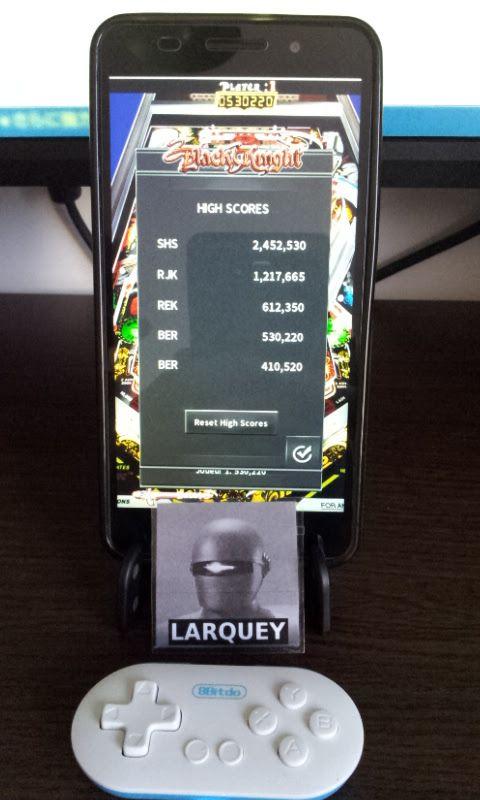 Larquey: Pinball Arcade: Black Knight (Android) 530,220 points on 2017-04-13 07:54:54