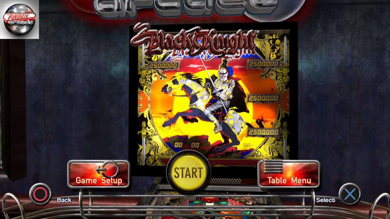 RetroRob: Pinball Arcade: Black Knight (Playstation 4) 360,820 points on 2019-10-22 09:51:11
