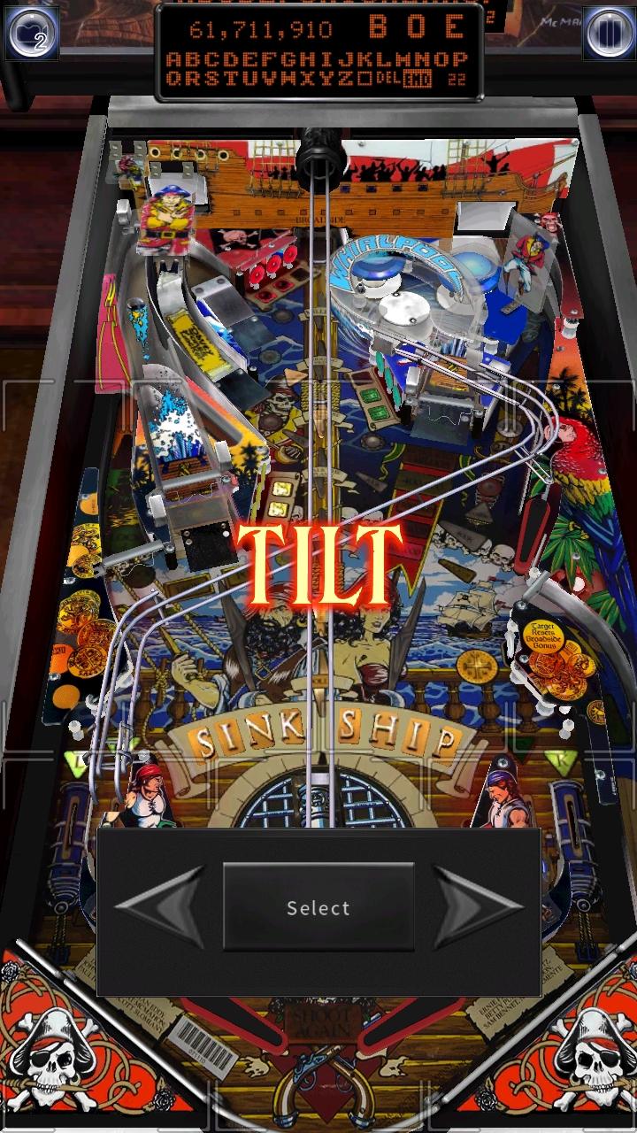 Pinball Arcade: Black Rose 61,711,910 points