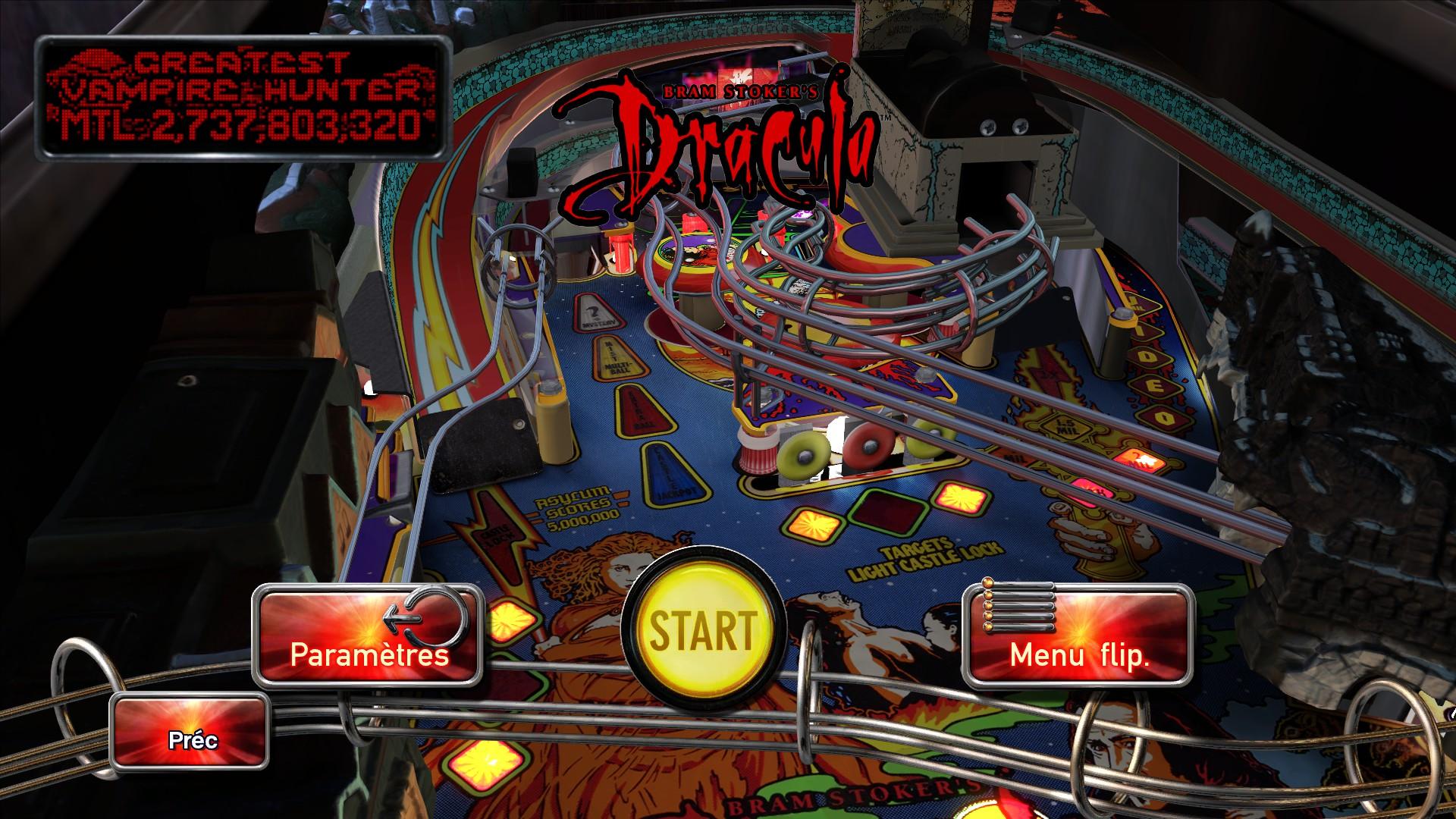 Mantalow: Pinball Arcade: Bram Stoker