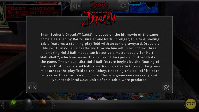 Mark: Pinball Arcade: Bram Stoker