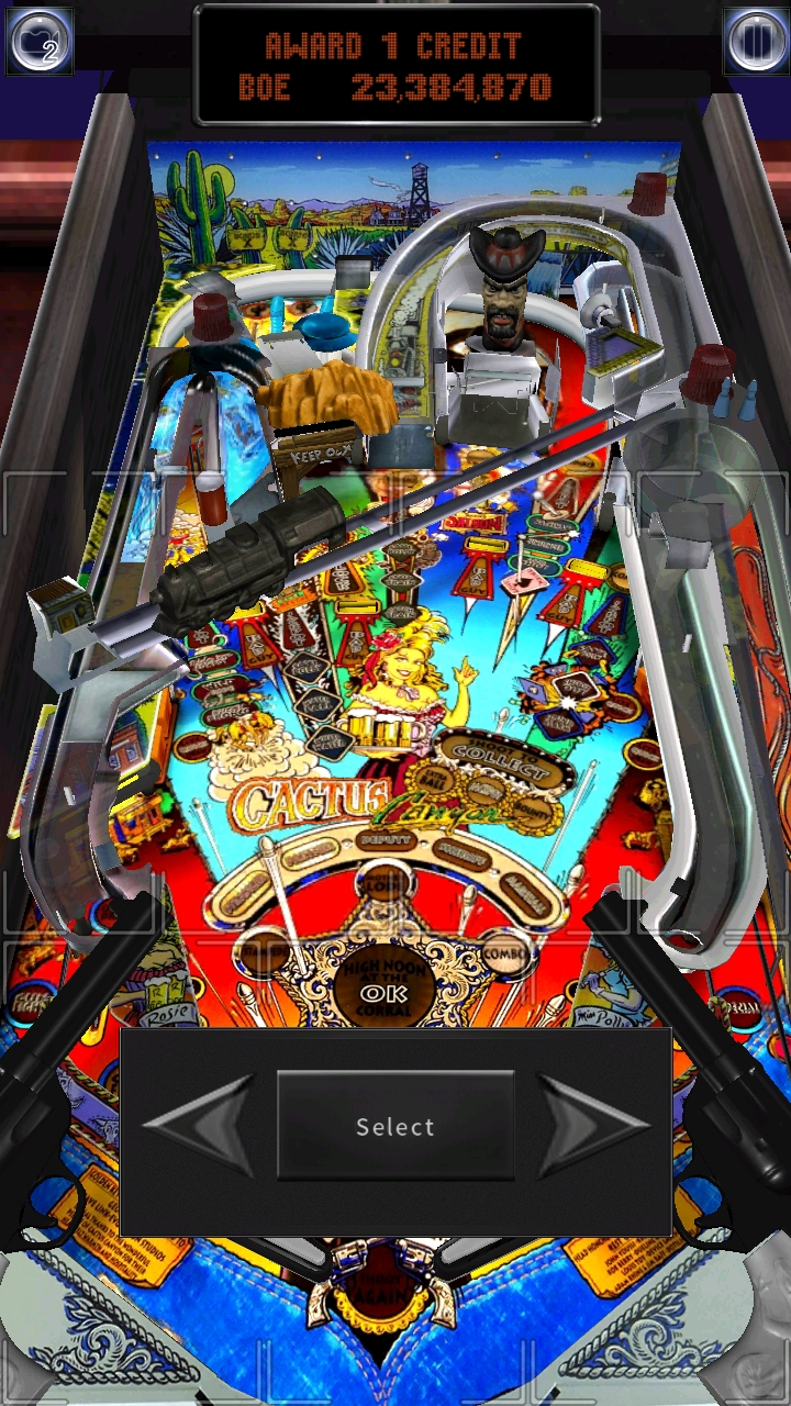 Pinball Arcade: Cactus Canyon 23,384,870 points