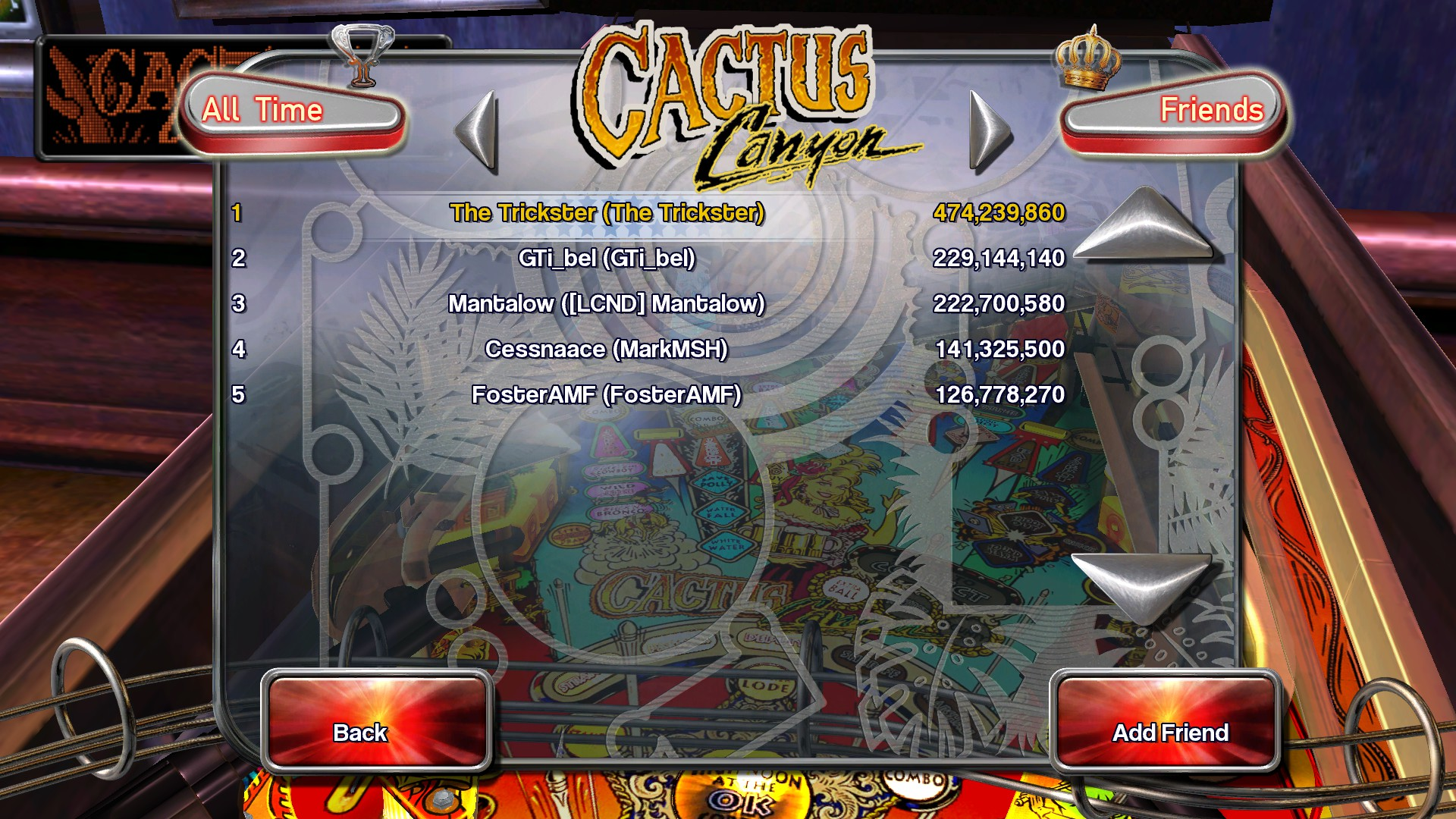 TheTrickster: Pinball Arcade: Cactus Canyon (PC) 474,239,860 points on 2016-04-12 09:26:31