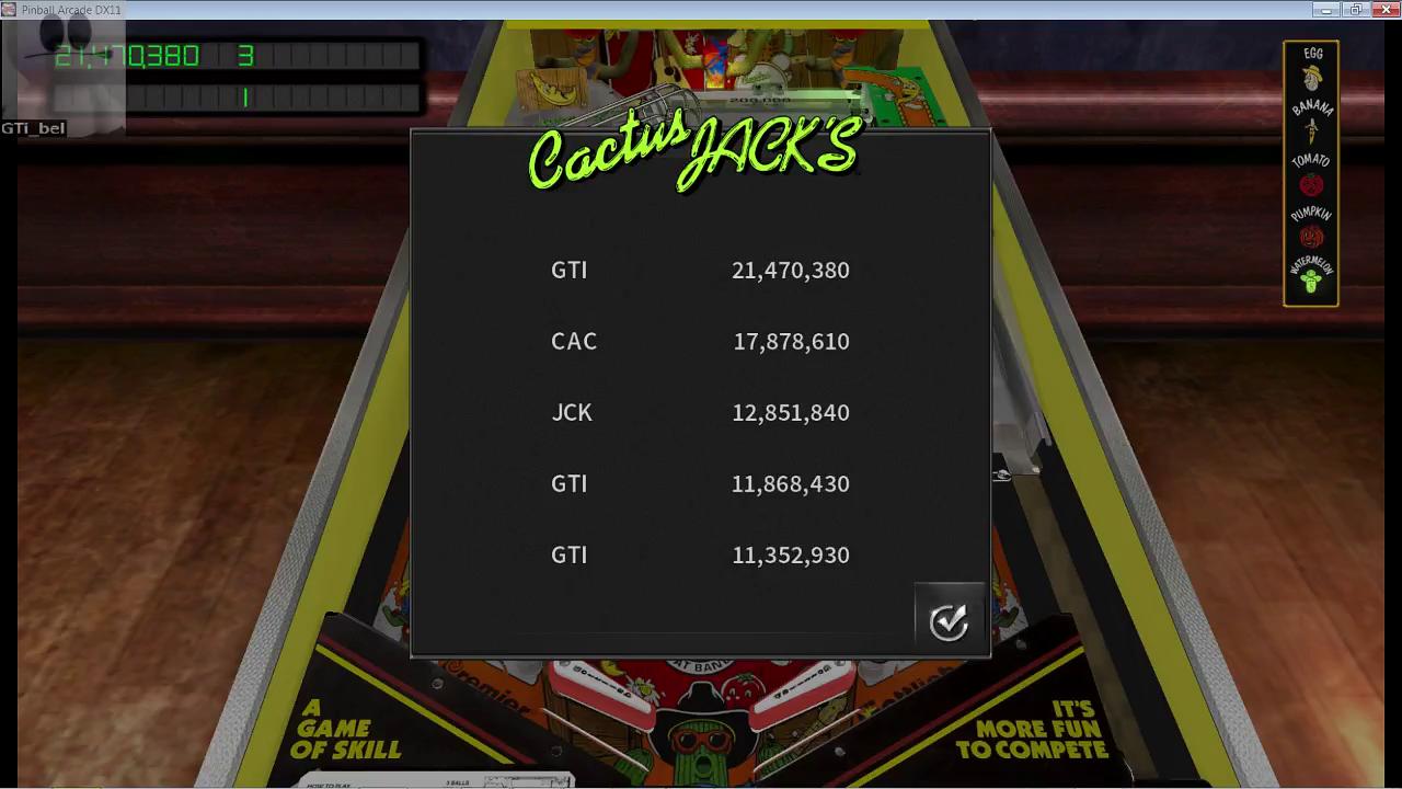 GTibel: Pinball Arcade: Cactus Jack