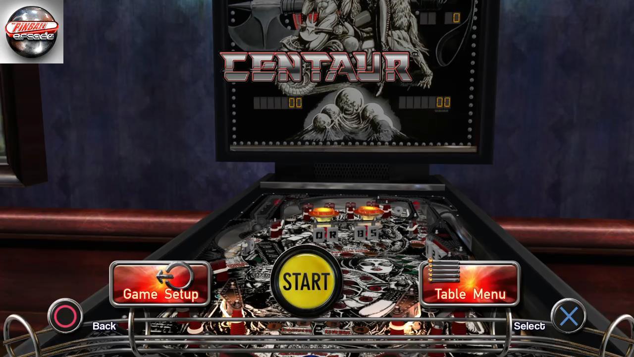 Pinball Arcade: Centaur 980,400 points