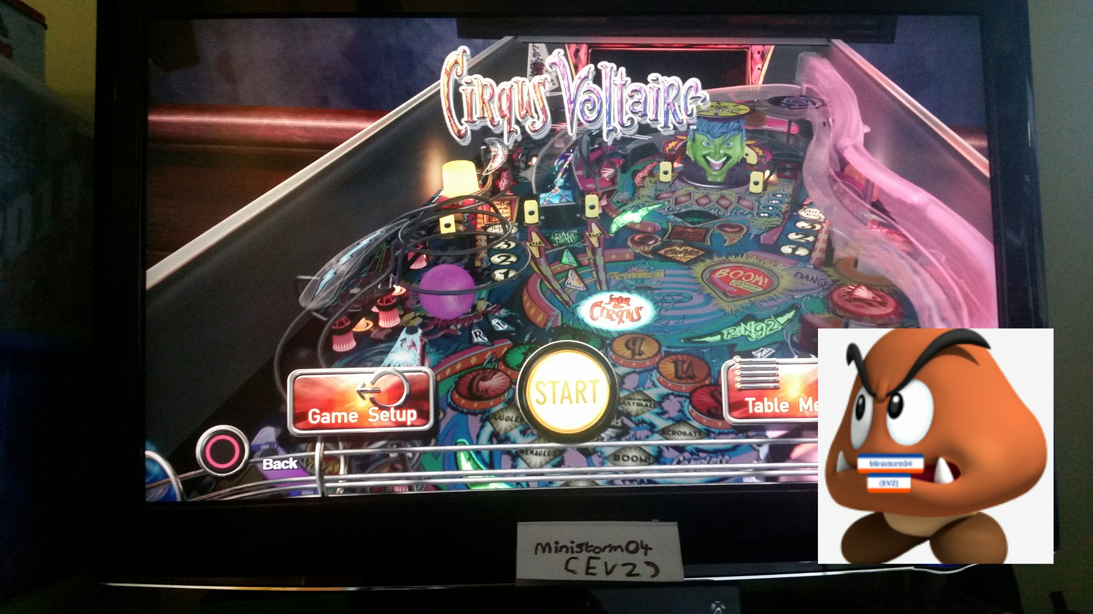 ministorm04: Pinball Arcade: Circus Voltaire (Playstation 4) 3,236,240 points on 2019-06-01 02:46:32
