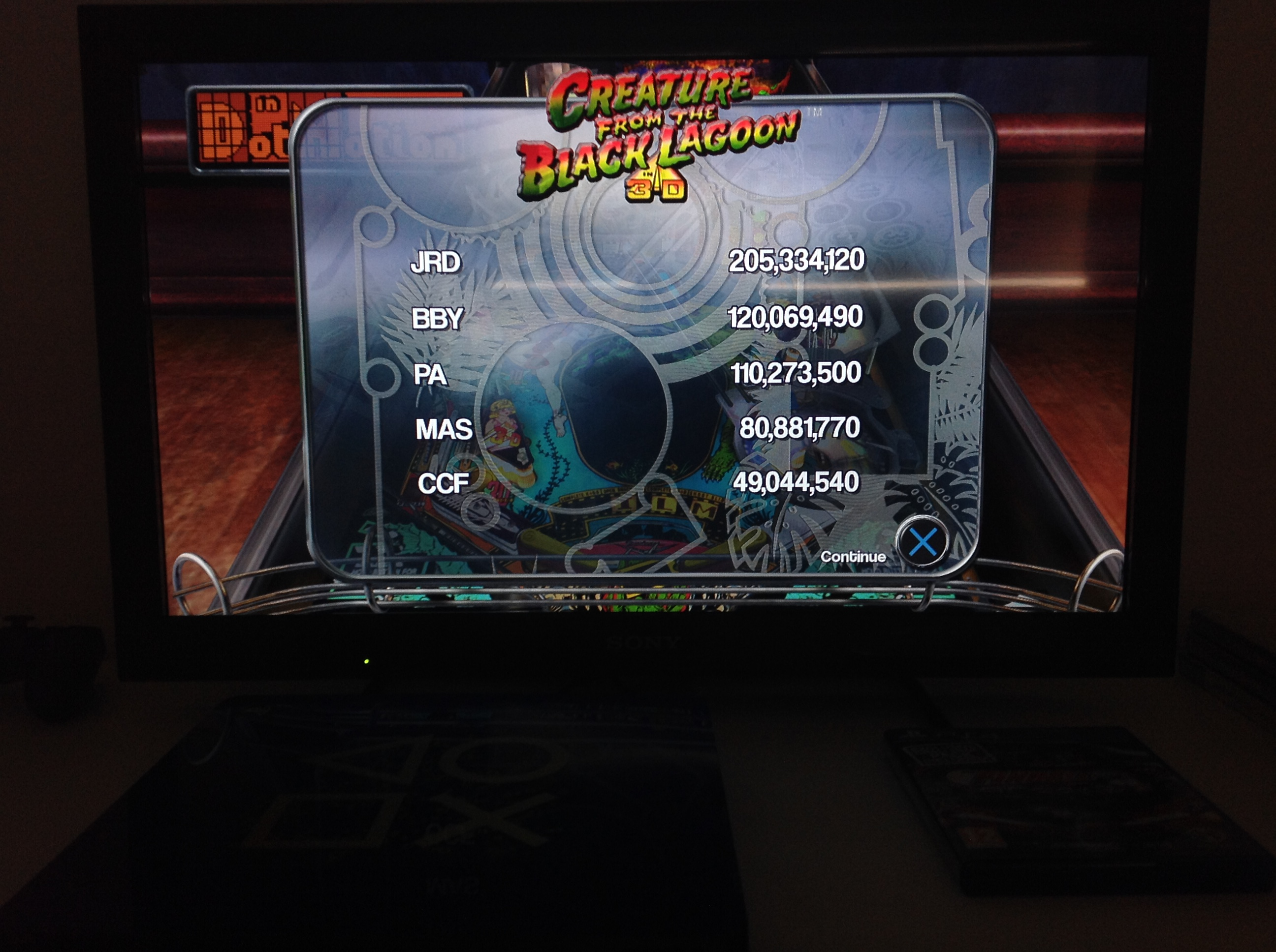 CoCoForest: Pinball Arcade: Creature From the Black Lagoon (Playstation 4) 49,044,540 points on 2018-07-05 13:26:38