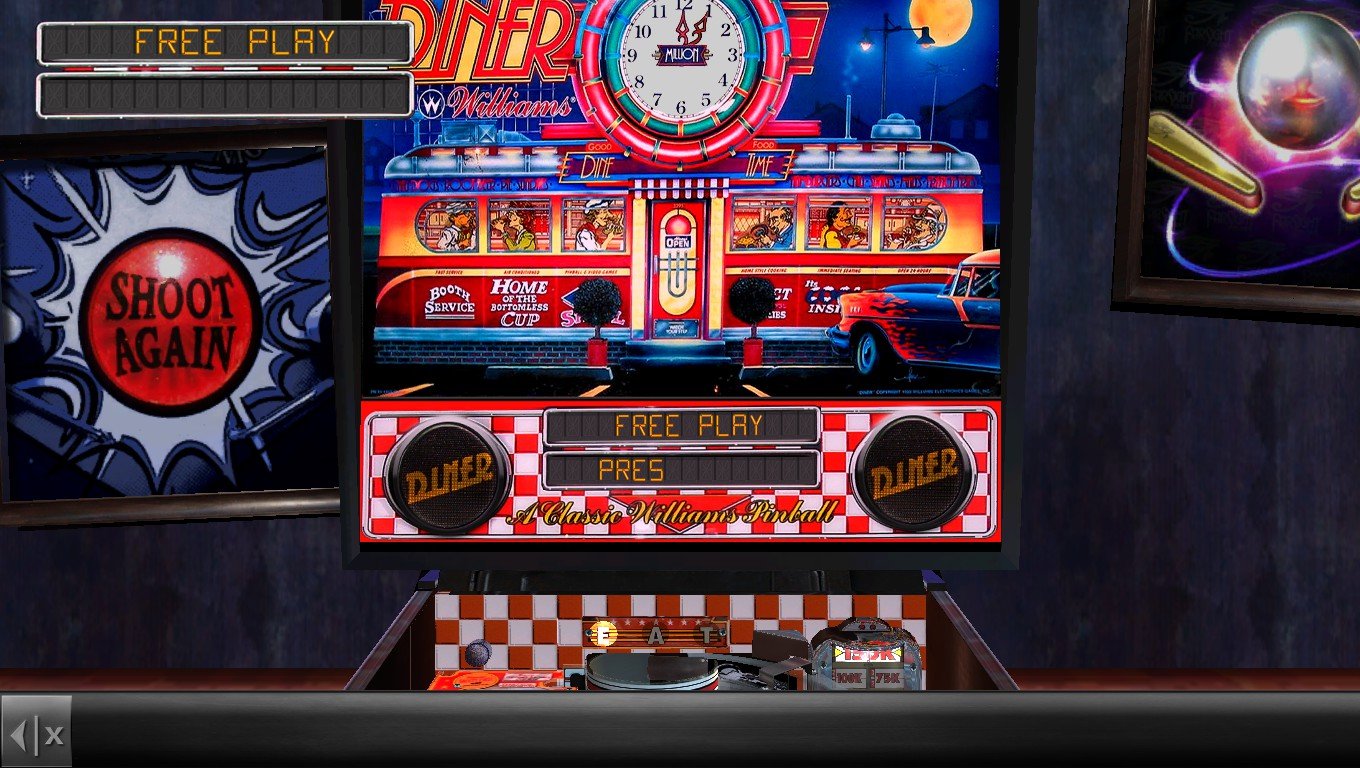 Mark: Pinball Arcade: Diner (PC) 17,596,430 points on 2018-05-06 00:24:54