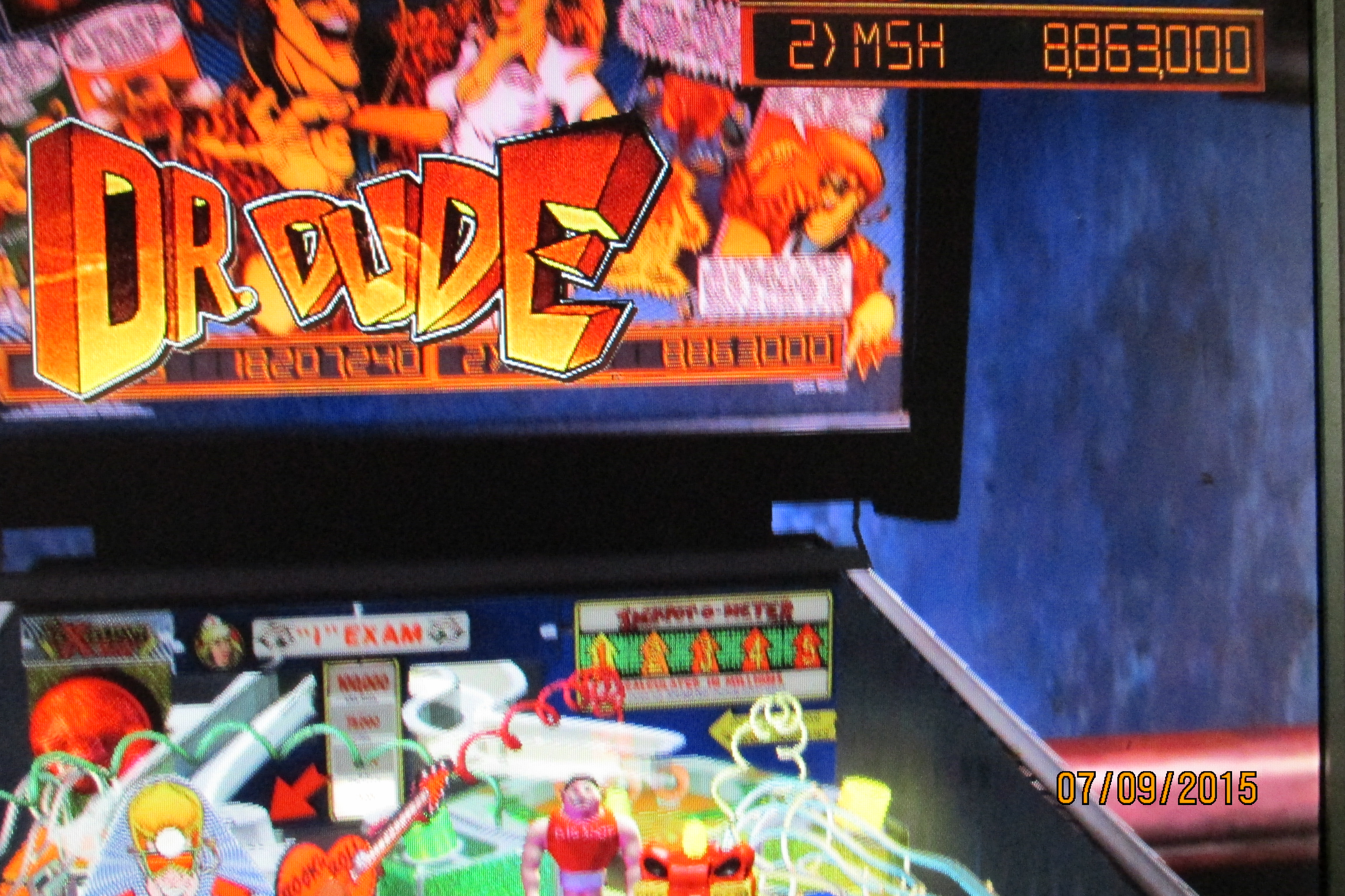 Mark: Pinball Arcade: Dr. Dude (PC) 8,863,000 points on 2015-07-10 17:54:14