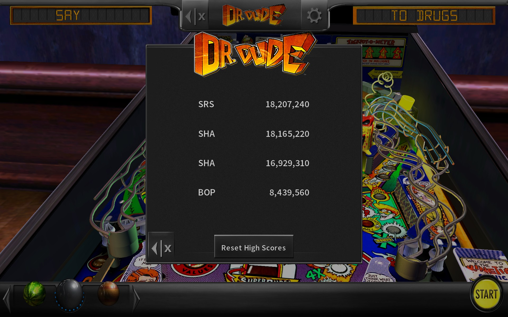 liberteer: Pinball Arcade: Dr. Dude (PC) 18,165,220 points on 2018-05-08 19:17:24