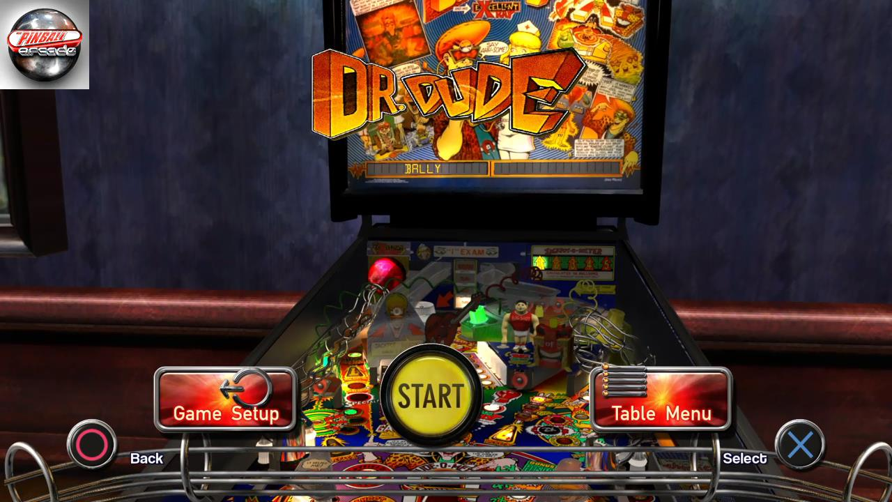 Pinball Arcade: Dr. Dude 4,344,370 points