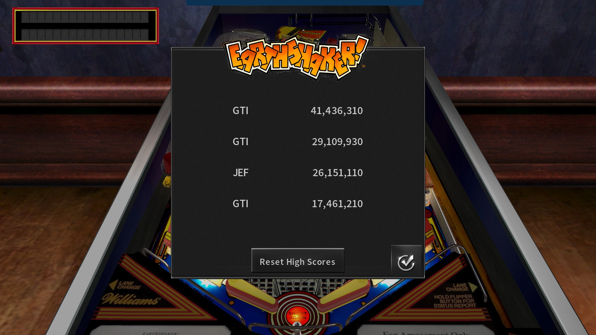 GTibel: Pinball Arcade: Earthshaker (PC) 41,436,310 points on 2017-10-06 12:46:47