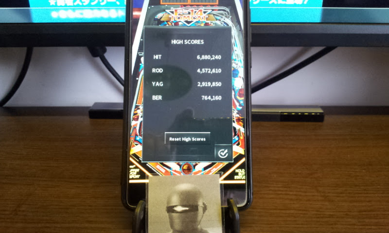 Larquey: Pinball Arcade: F-14 Tomcat (Android) 764,160 points on 2018-02-11 06:09:00