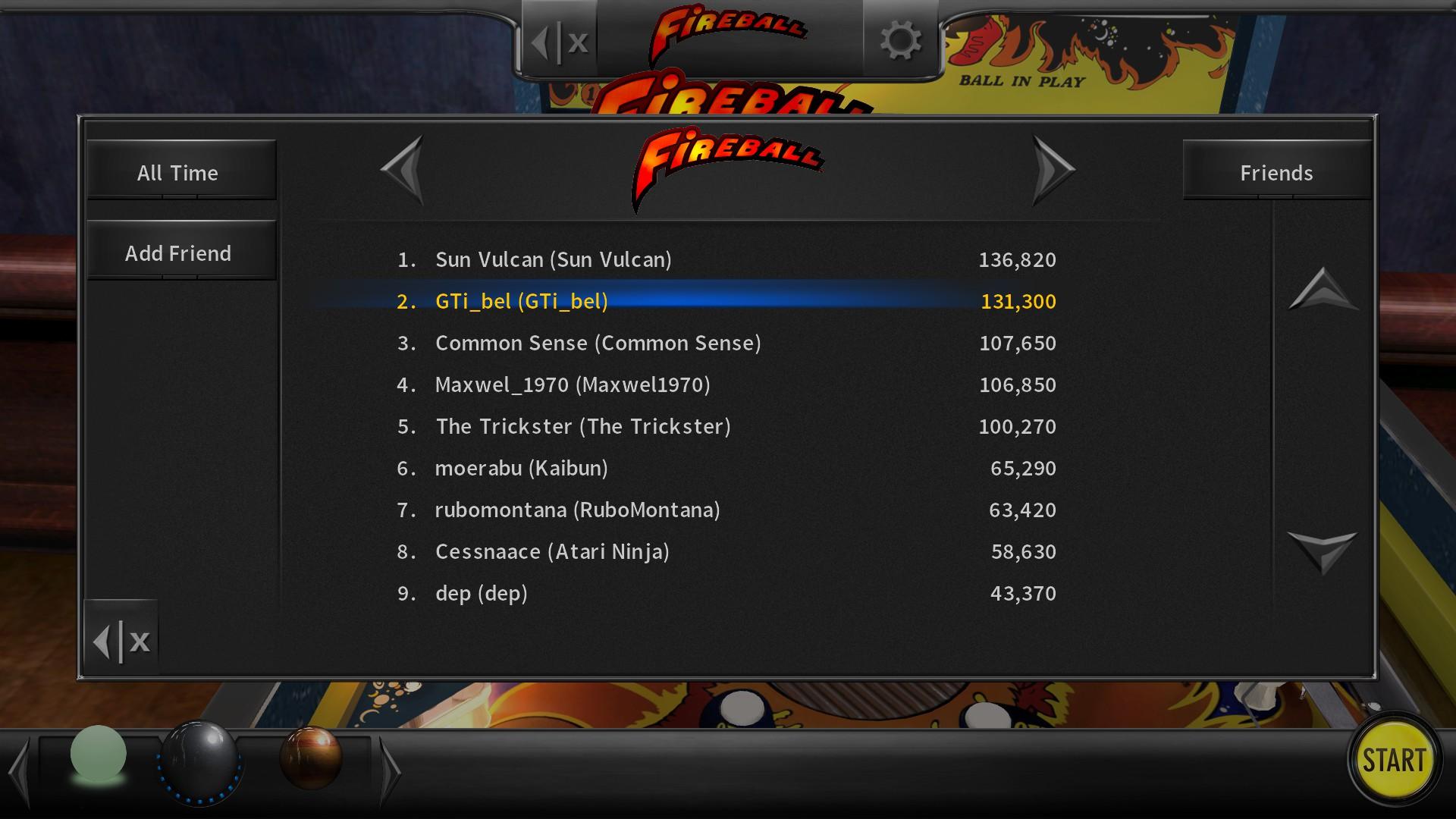 Pinball Arcade: Fireball 131,300 points