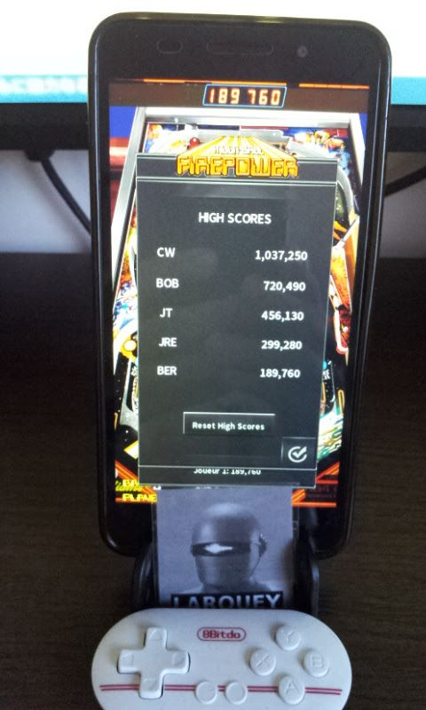 Larquey: Pinball Arcade: Firepower (Android) 189,760 points on 2017-10-08 04:24:36