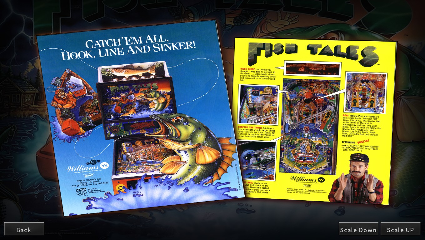 Mark: Pinball Arcade: Fish Tales (PC) 136,040,570 points on 2018-05-10 23:19:35