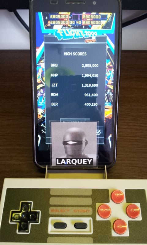 Larquey: Pinball Arcade: Flight 2000 (Android) 400,190 points on 2017-08-15 11:39:34