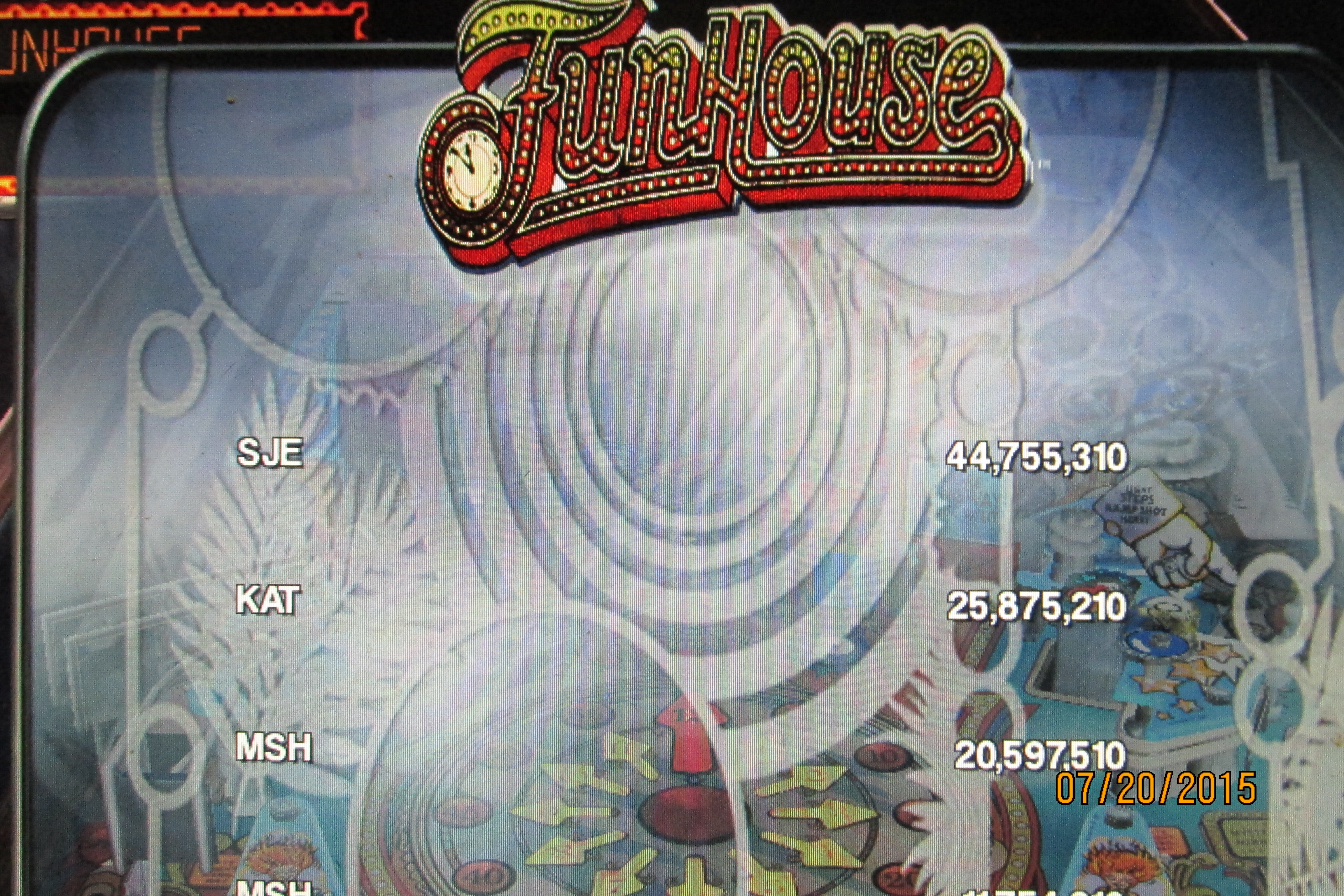 Mark: Pinball Arcade: Funhouse (PC) 20,597,510 points on 2015-07-21 16:59:20