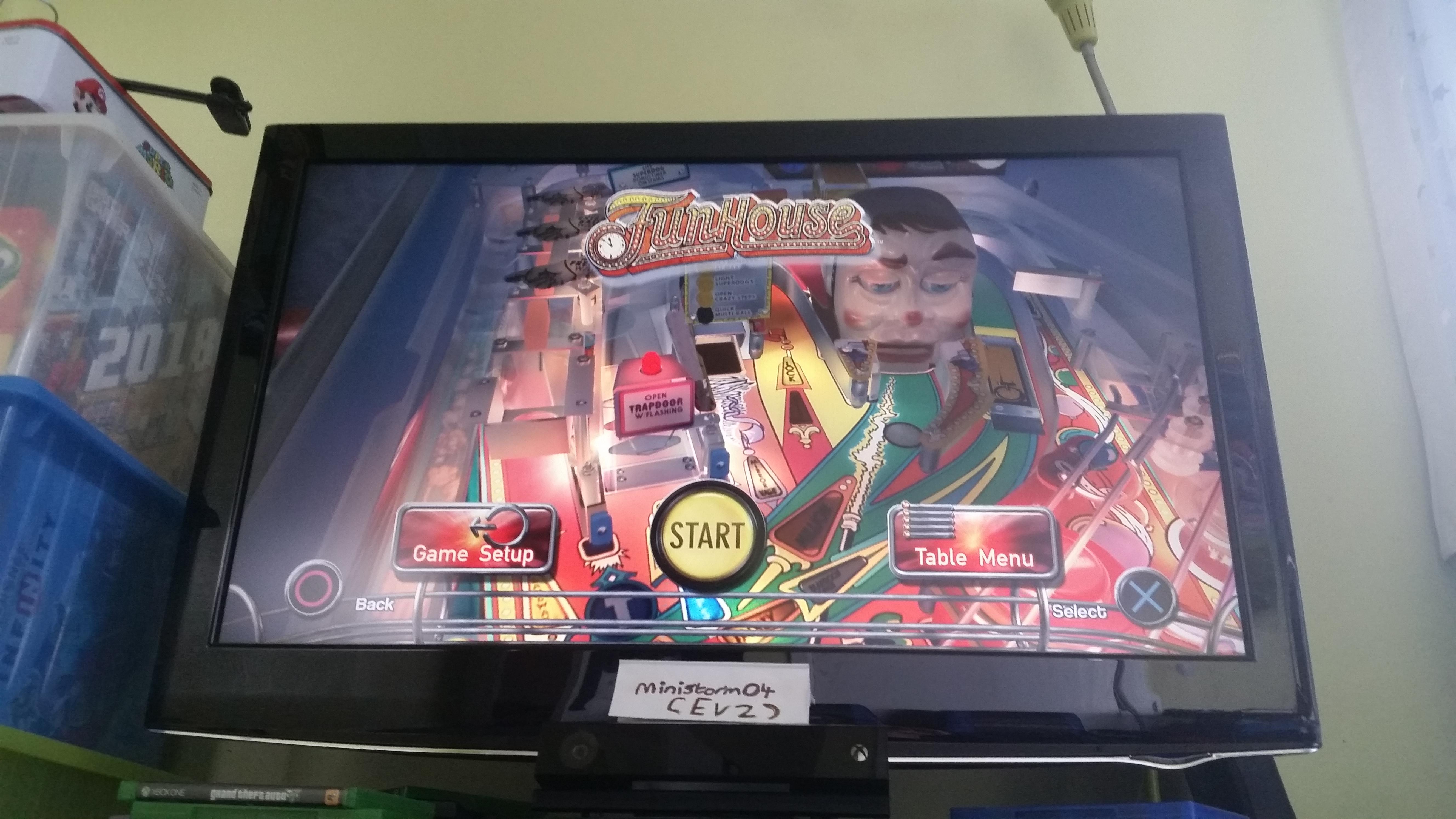 Pinball Arcade: Funhouse 2,989,140 points