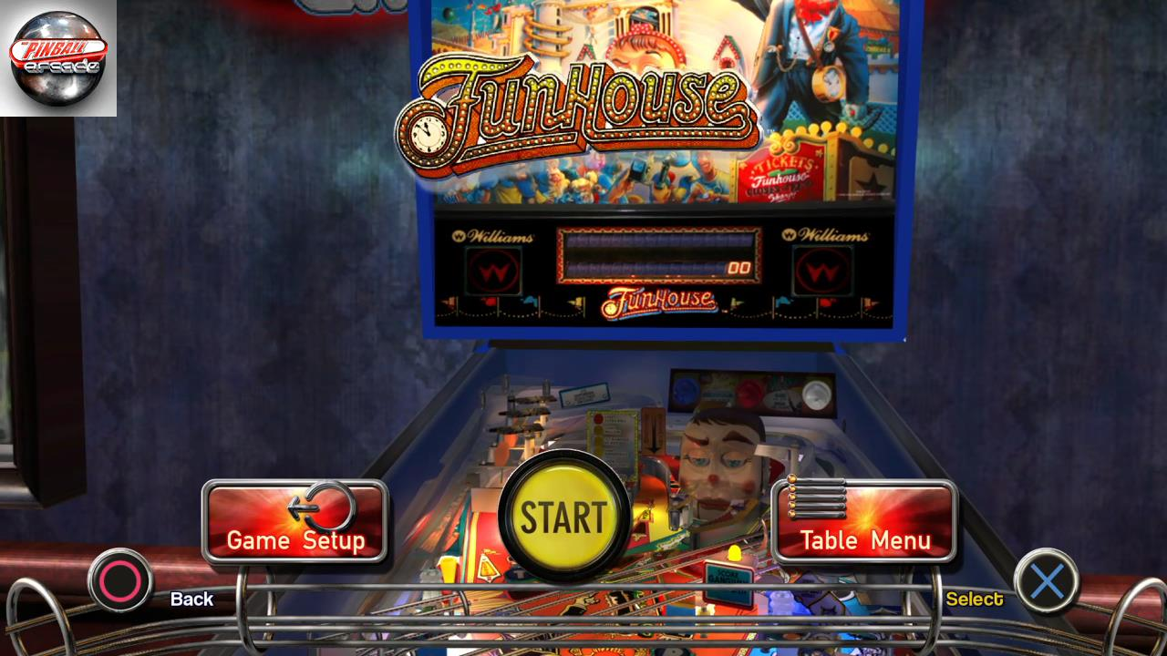 RetroRob: Pinball Arcade: Funhouse (Playstation 4) 19,233,890 points on 2019-10-21 06:34:13