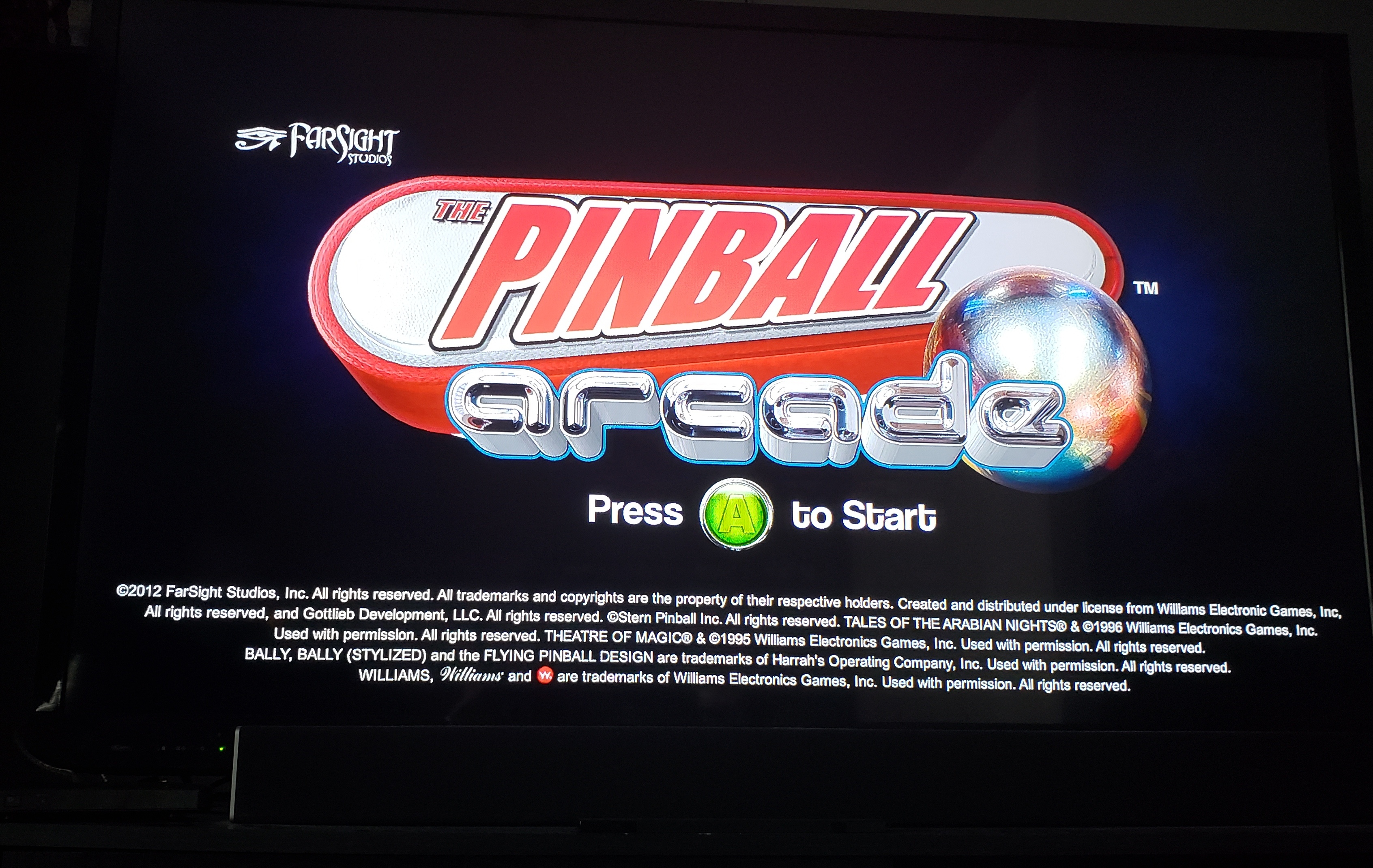 Stryker: Pinball Arcade: Funhouse (Xbox 360) 26,969,980 points on 2019-01-13 14:22:24