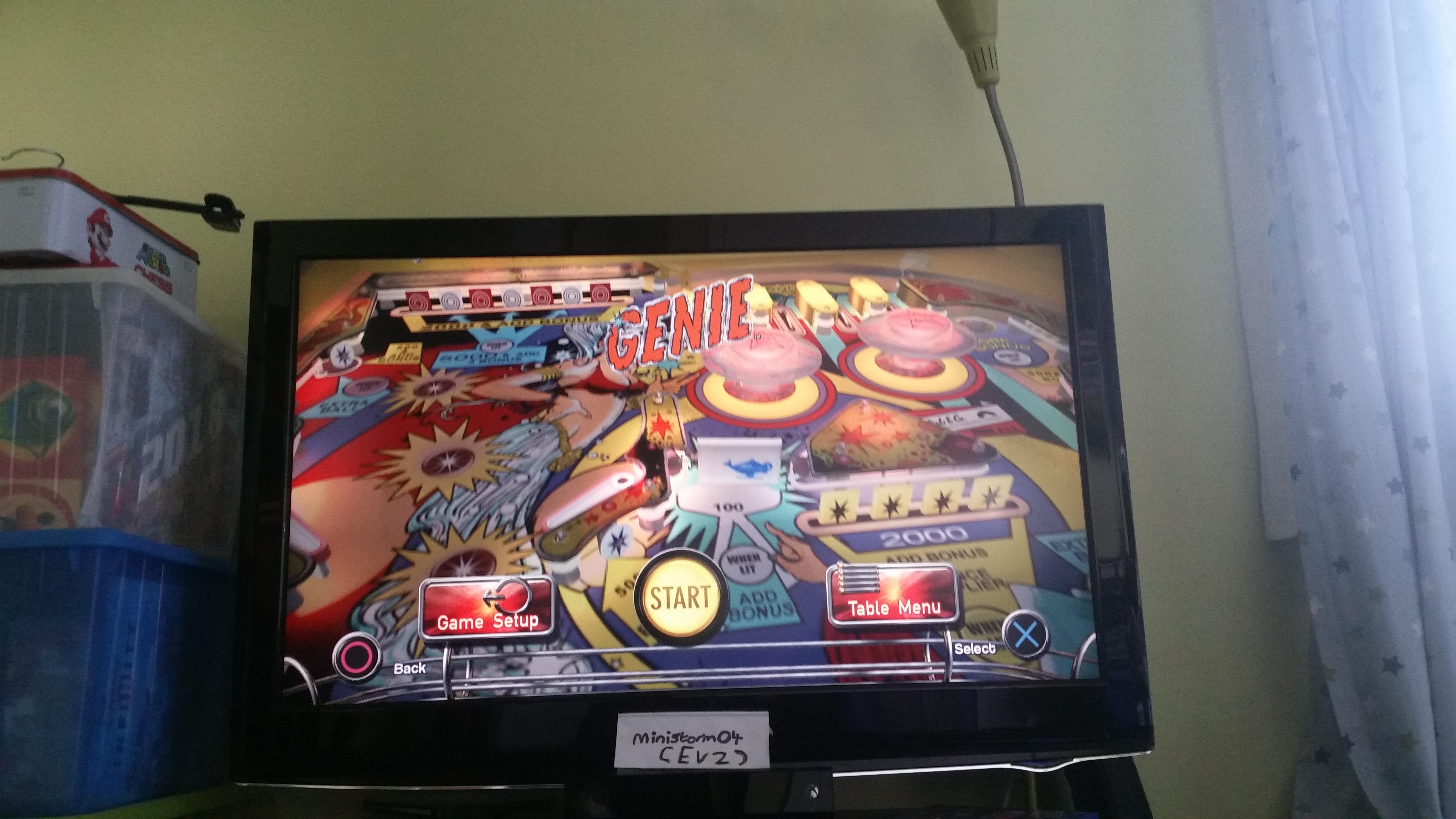 Pinball Arcade: Genie 216,490 points