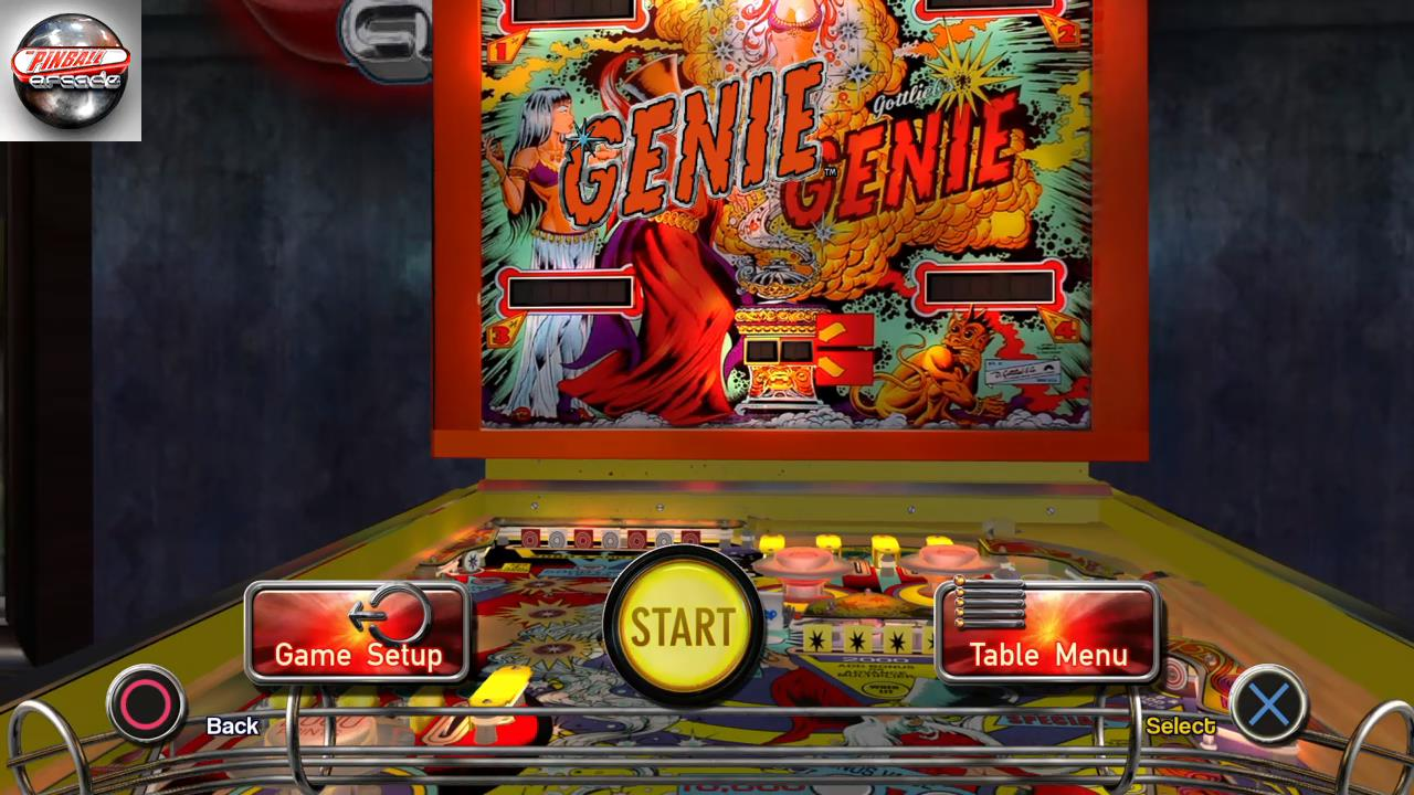 RetroRob: Pinball Arcade: Genie (Playstation 4) 446,110 points on 2019-12-19 13:03:12