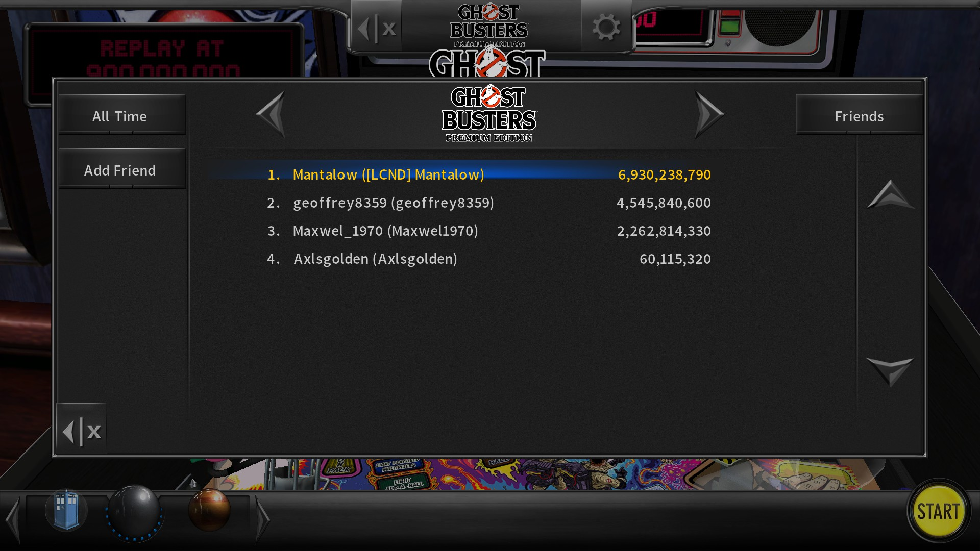 Mantalow: Pinball Arcade: Ghost Busters (PC) 6,930,238,790 points on 2017-11-26 13:11:19