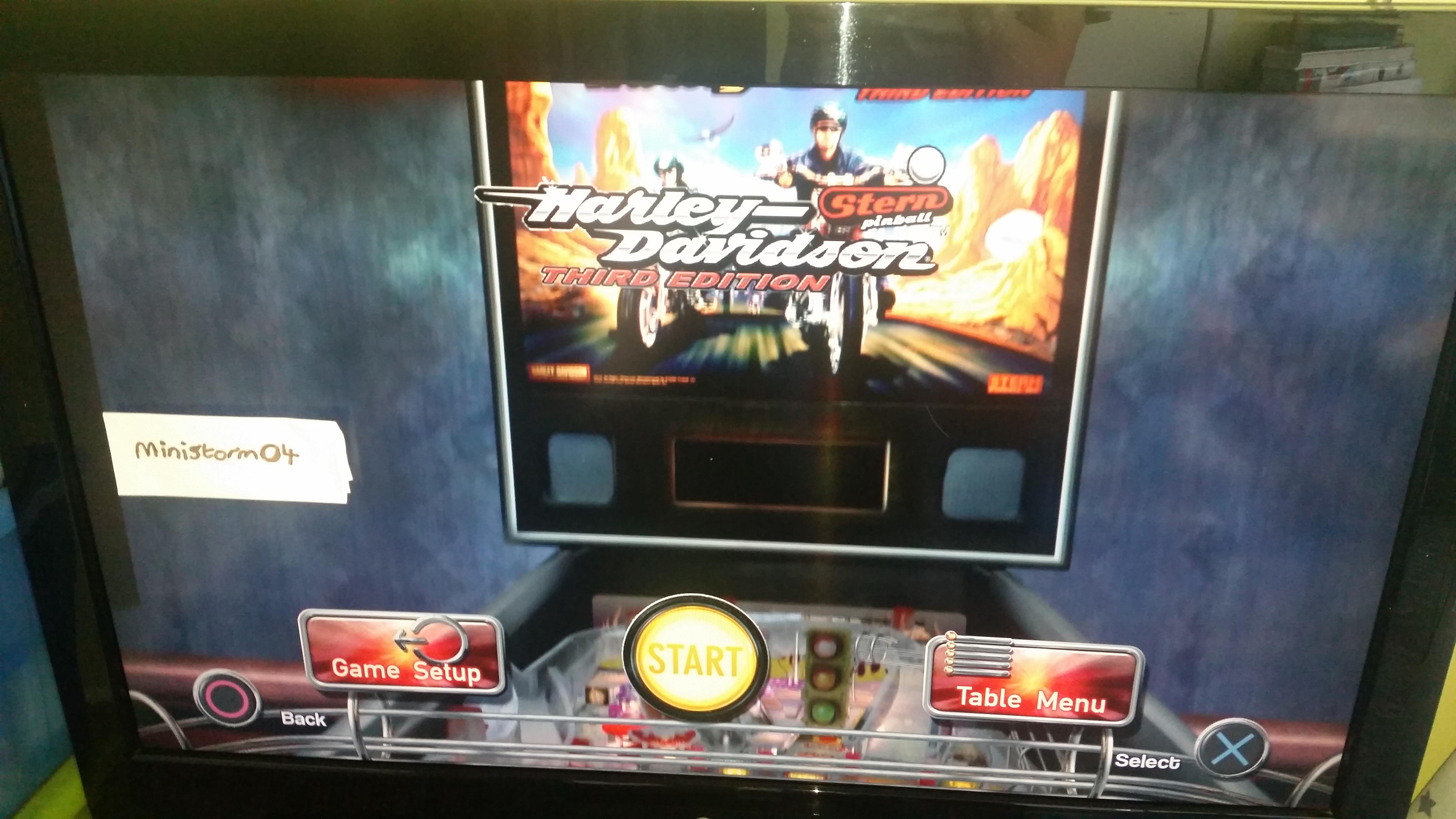 Pinball Arcade: Harley-Davidson 84,373,270 points