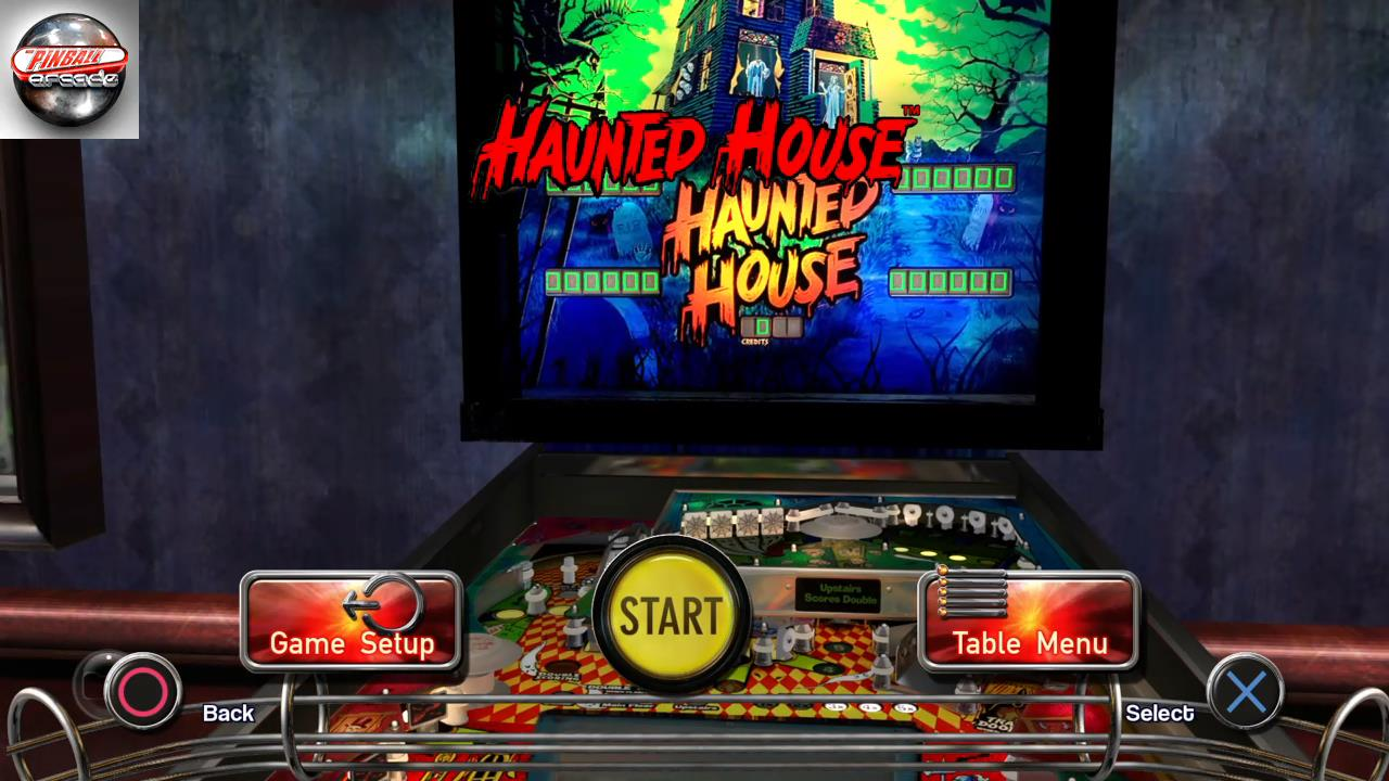 RetroRob: Pinball Arcade: Haunted House (Playstation 4) 466,010 points on 2020-02-16 10:34:23