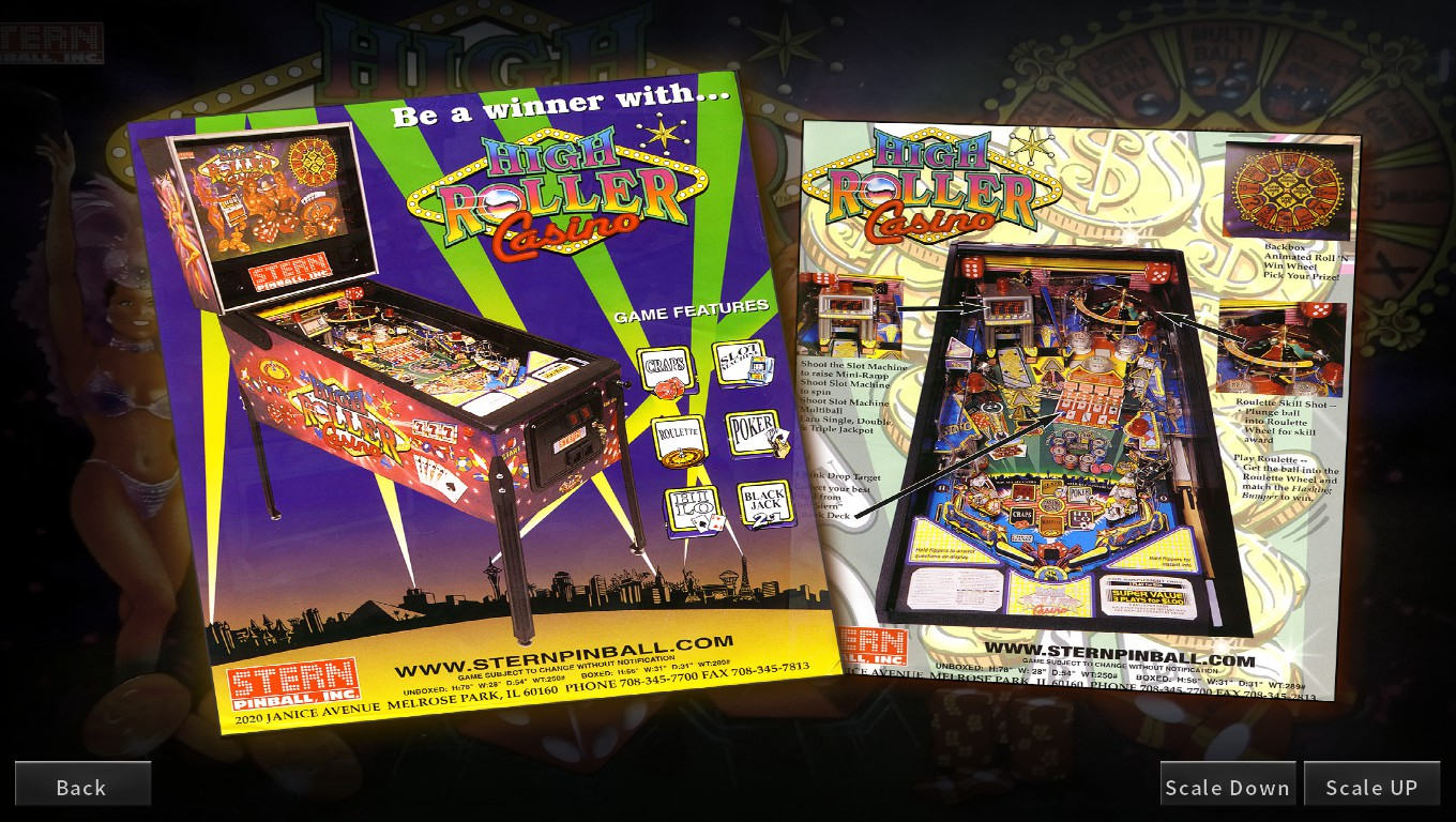 Mark: Pinball Arcade: High Roller Casino (PC) 913,911,920 points on 2018-05-13 02:06:21