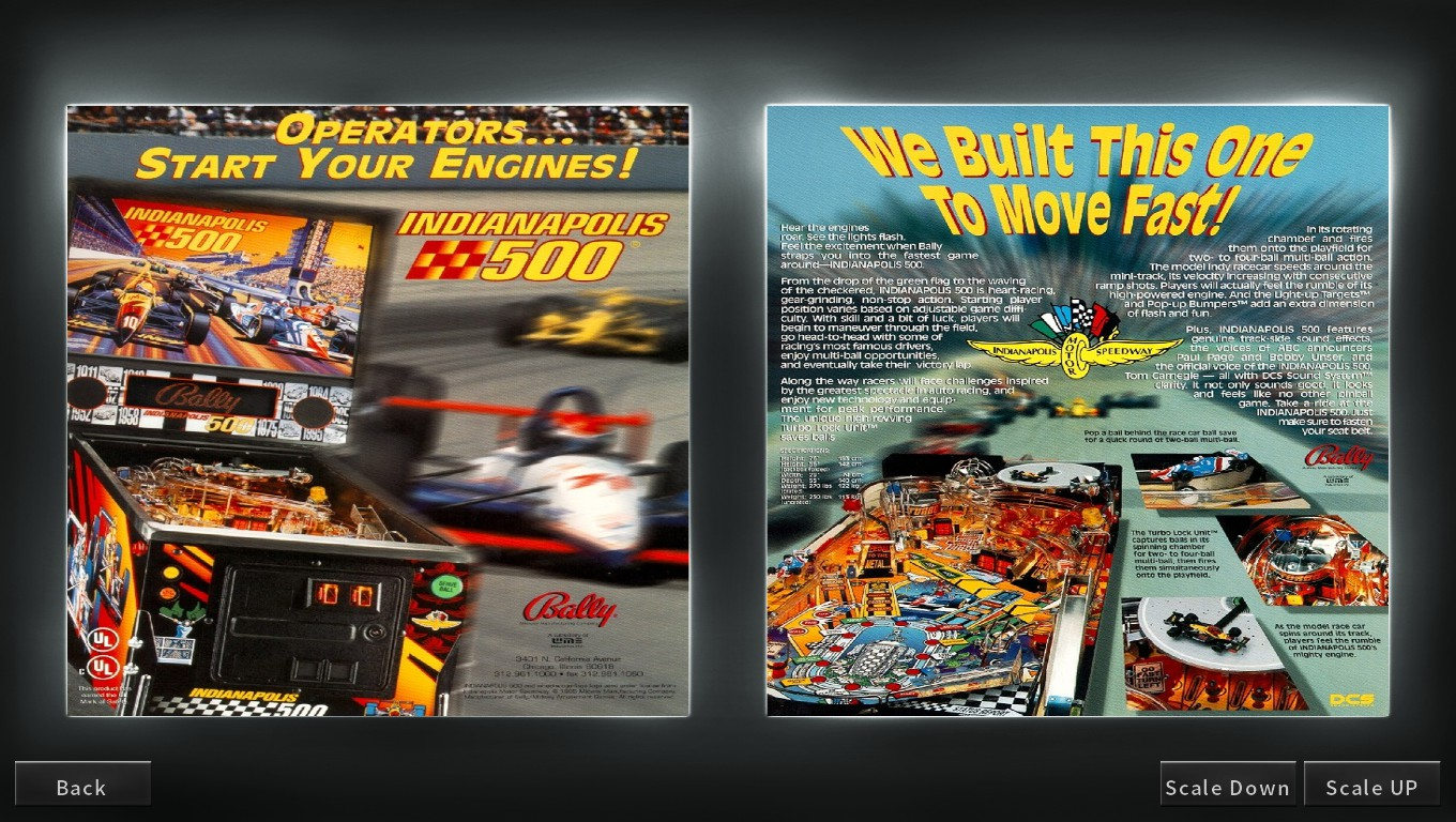 Mark: Pinball Arcade: Indianapolis 500 (PC) 1,453,017,350 points on 2018-05-13 23:59:54