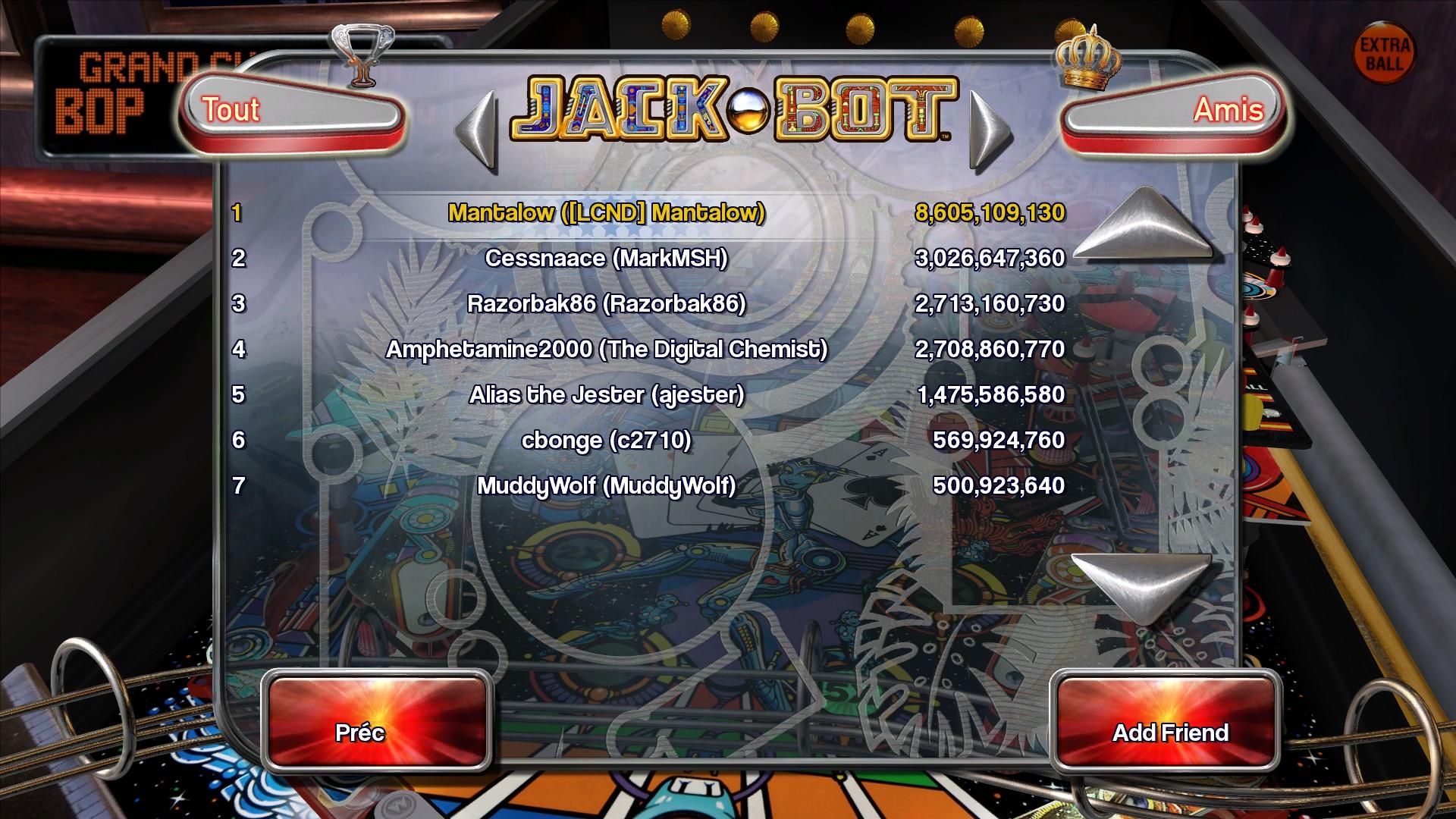 Mantalow: Pinball Arcade: Jack*Bot (PC) 8,605,109,130 points on 2015-08-29 11:08:24