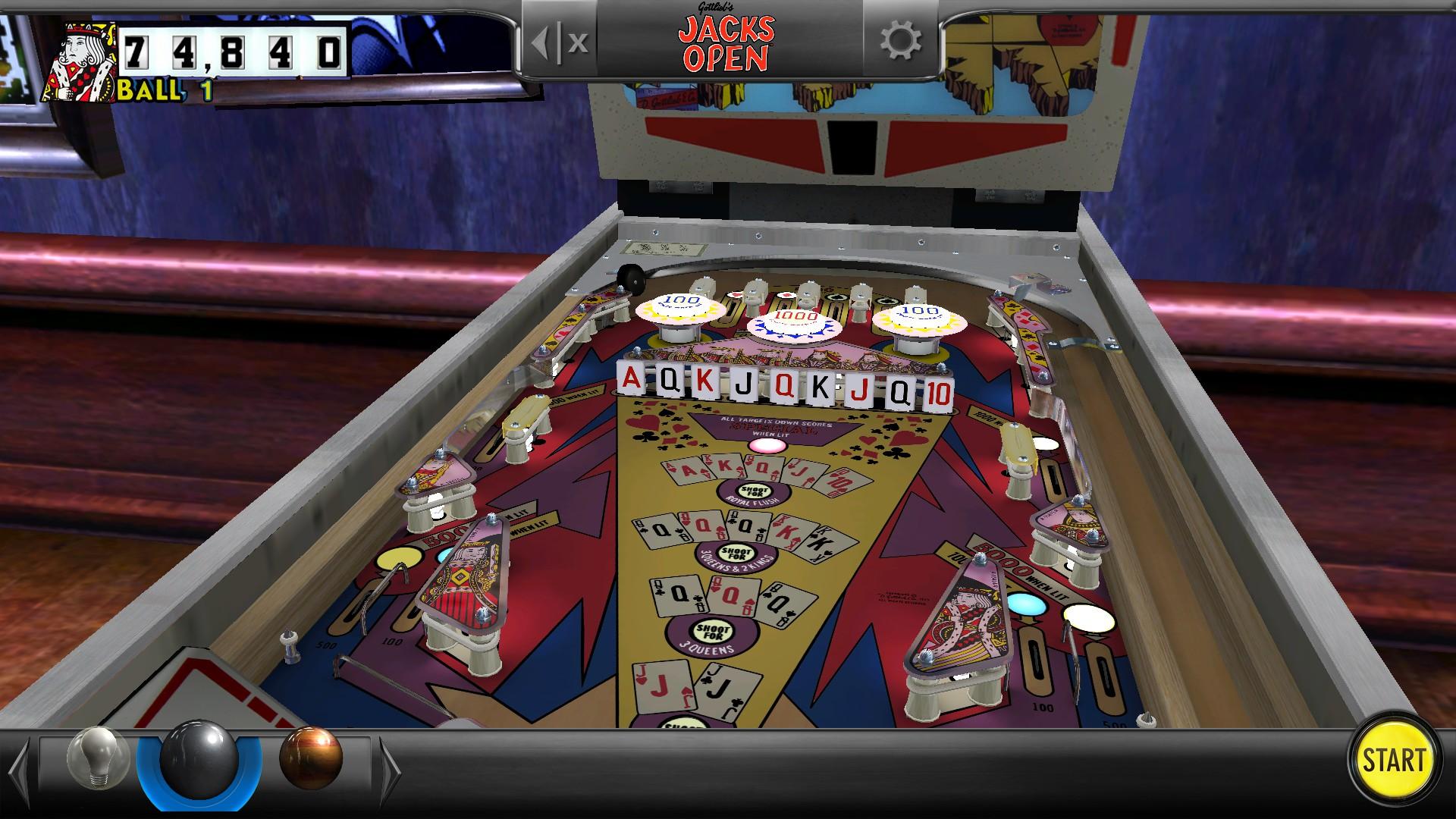 Mantalow: Pinball Arcade: Jacks Open (PC) 174,840 points on 2016-11-27 11:52:07