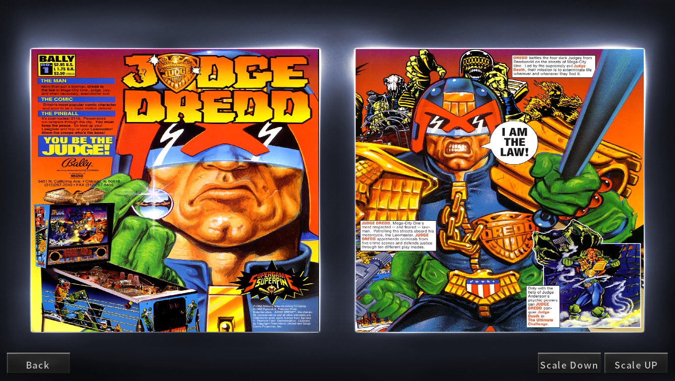 Mark: Pinball Arcade: Judge Dredd™ (PC) 501,628,330 points on 2018-05-14 00:07:55